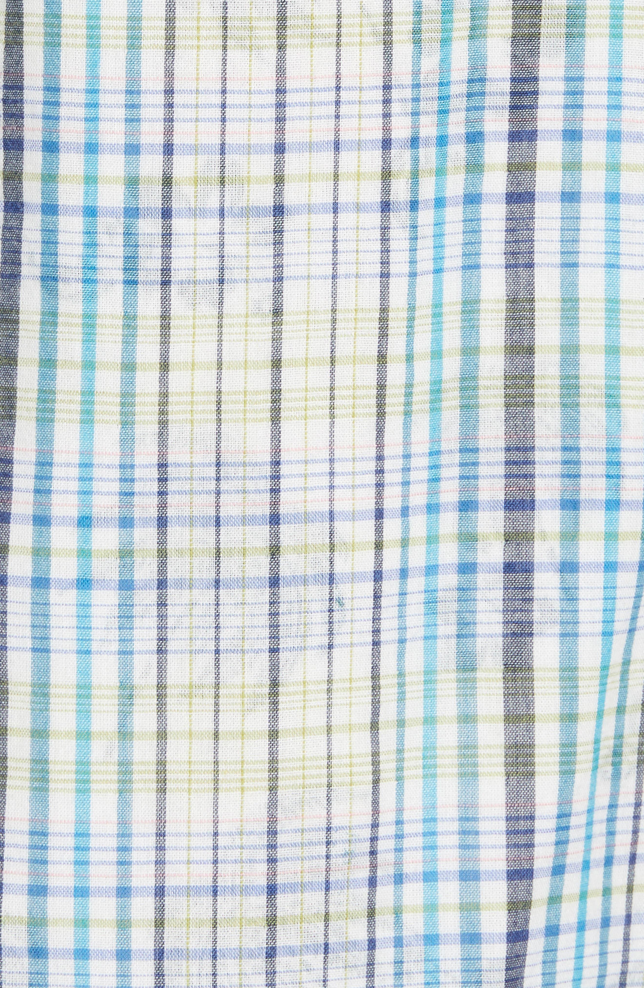 Hideaway Palms Camp Shirt,                             Alternate thumbnail 5, color,                             400