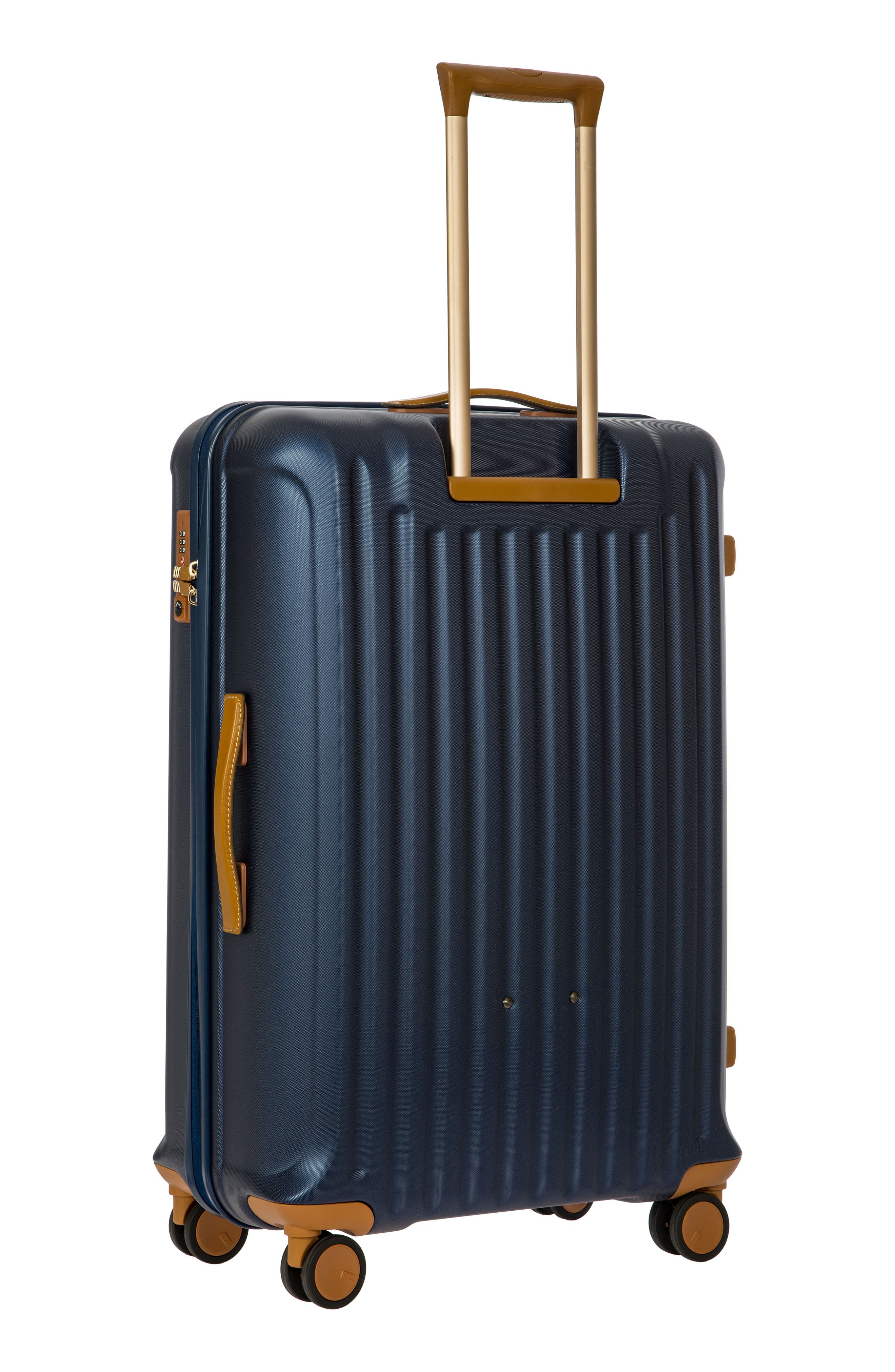 Capri 30-Inch Rolling Suitcase,                             Alternate thumbnail 4, color,                             MATTE BLUE