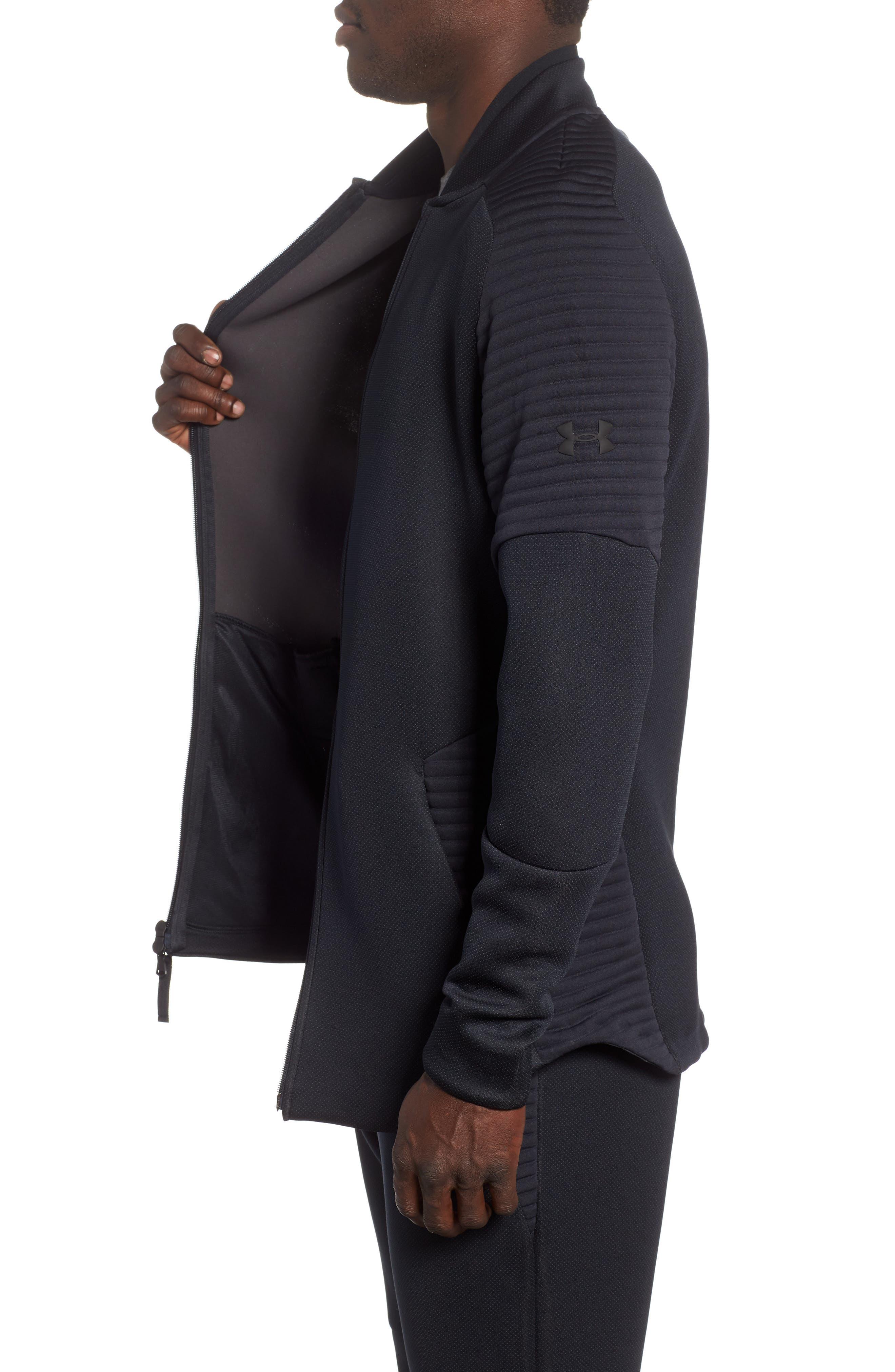 Unstoppable /MOVE Jacket,                             Alternate thumbnail 3, color,                             BLACK/ CHARCOAL/ BLACK