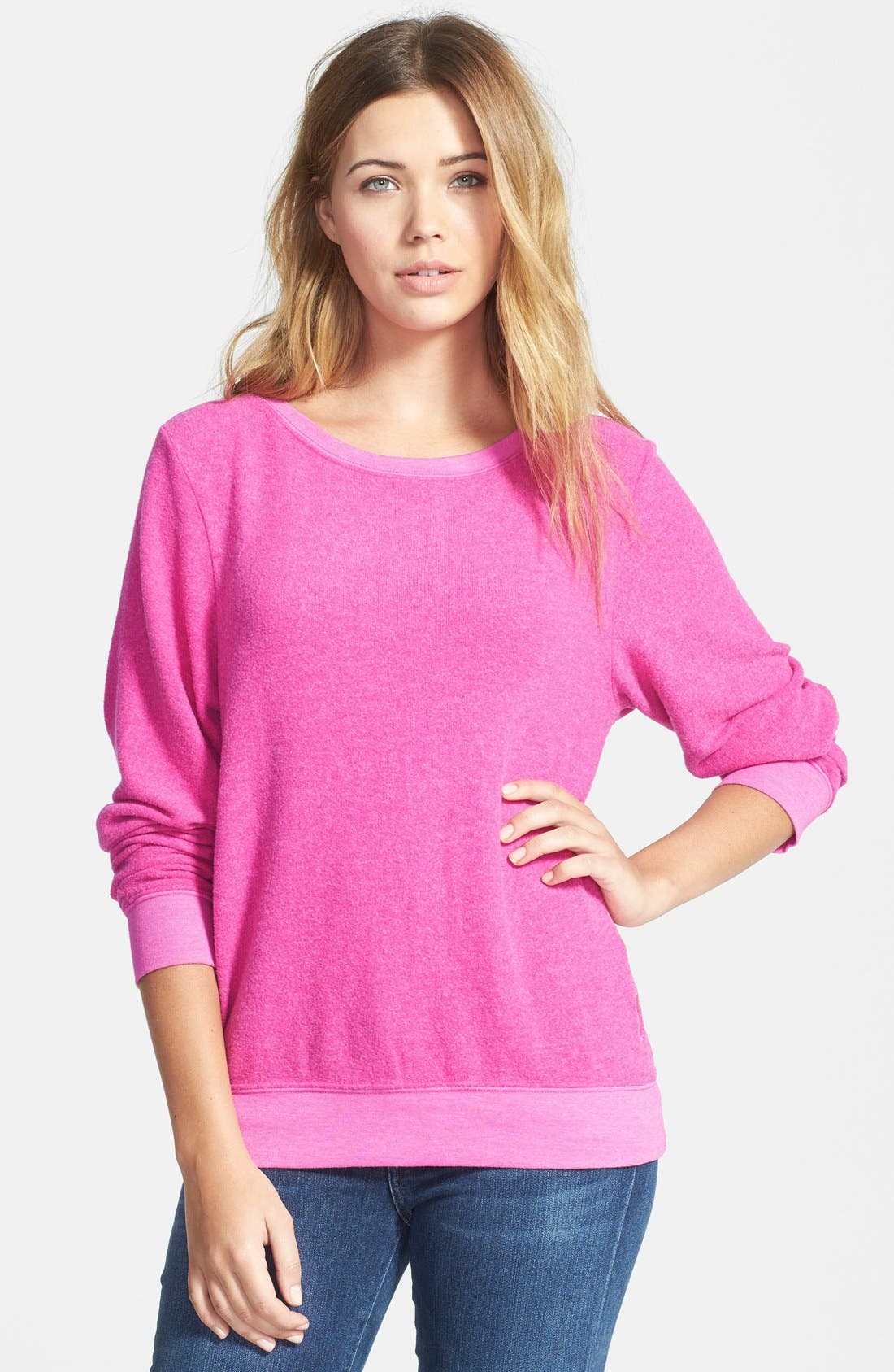 'Baggy Beach Jumper' Pullover,                             Main thumbnail 39, color,