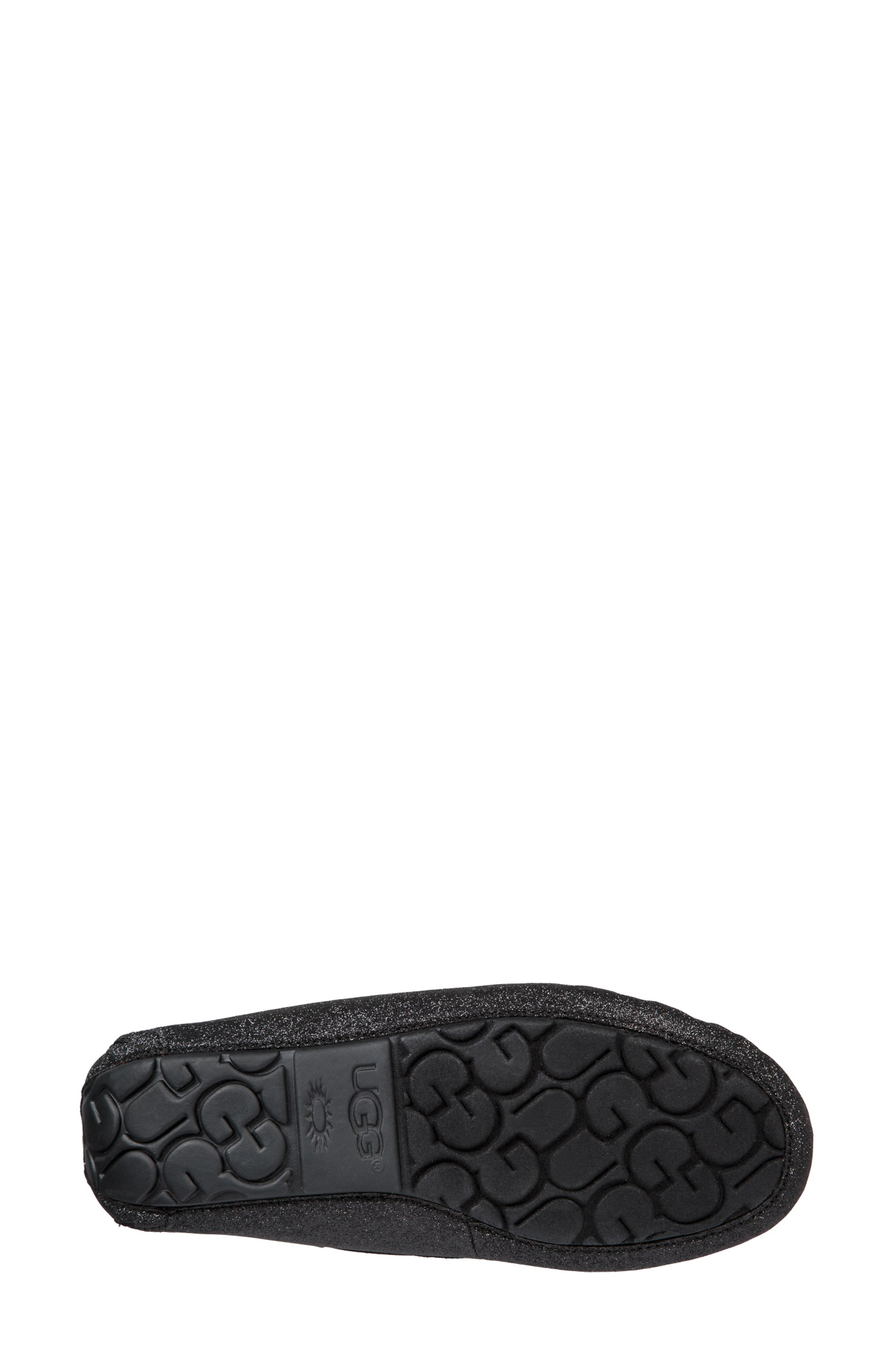 Dakota Sparkle Slipper,                             Alternate thumbnail 5, color,                             BLACK