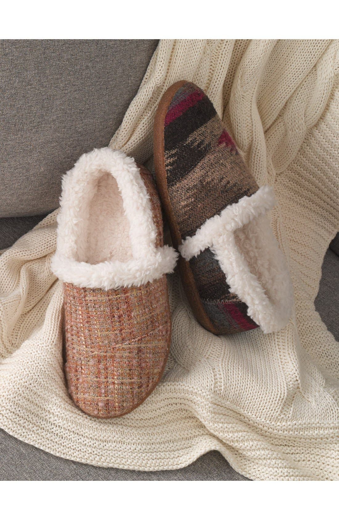 TOMS,                             'Classic - Wool' Slippers,                             Alternate thumbnail 5, color,                             050