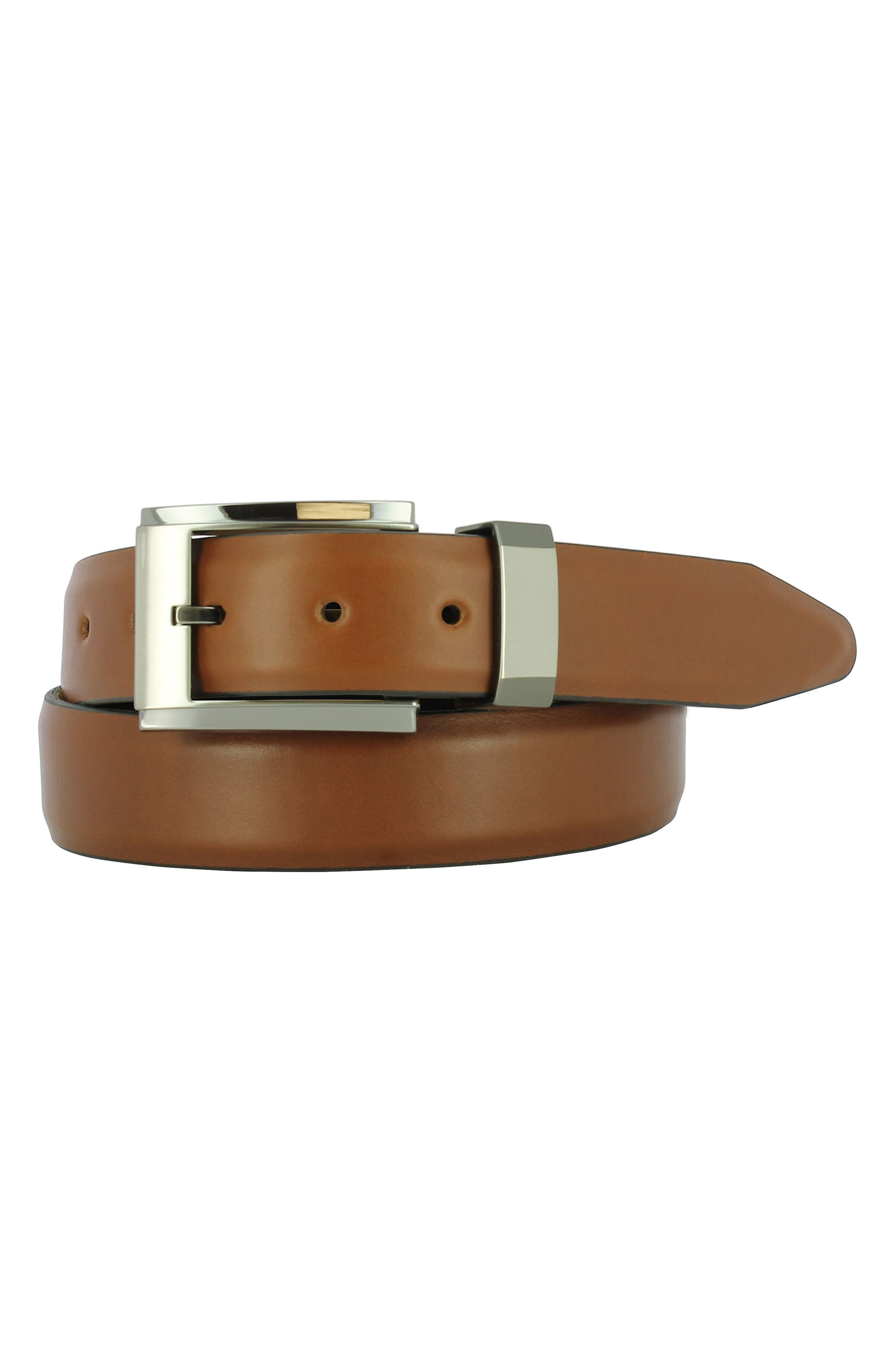 Remo Tulliani Luke Leather Belt, Tan