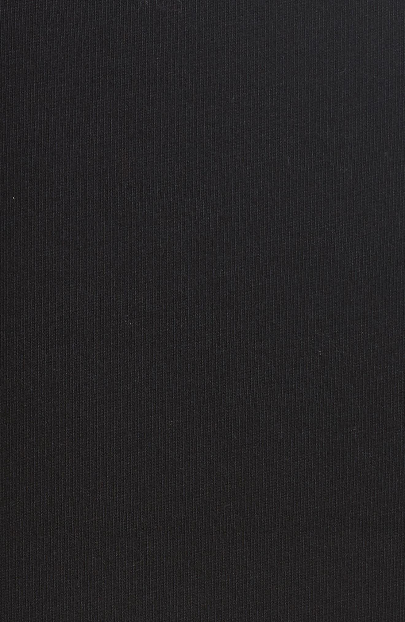 flounce sleeve knit top,                             Alternate thumbnail 5, color,                             001