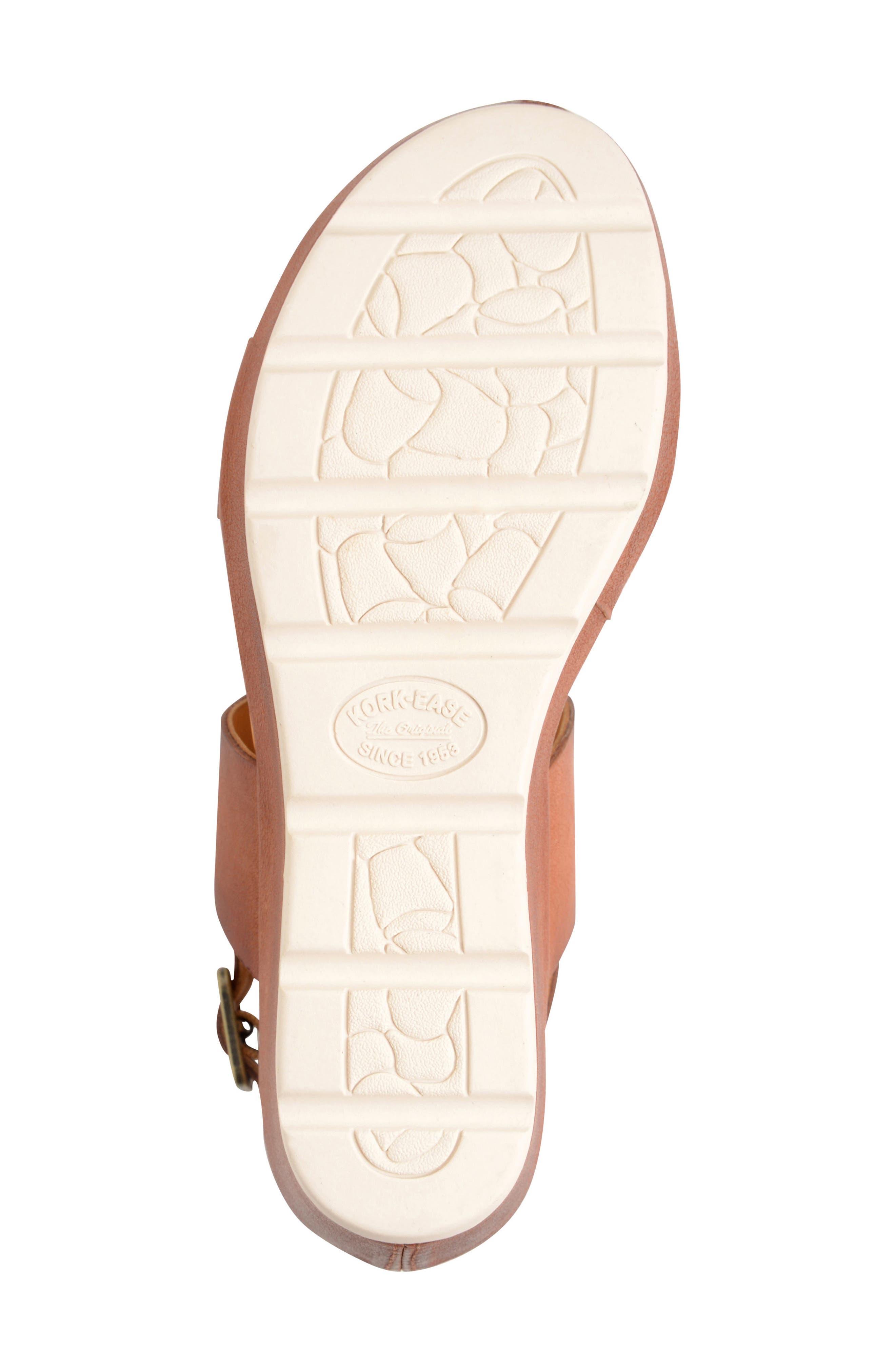 'Khloe' Platform Wedge Sandal,                             Alternate thumbnail 18, color,