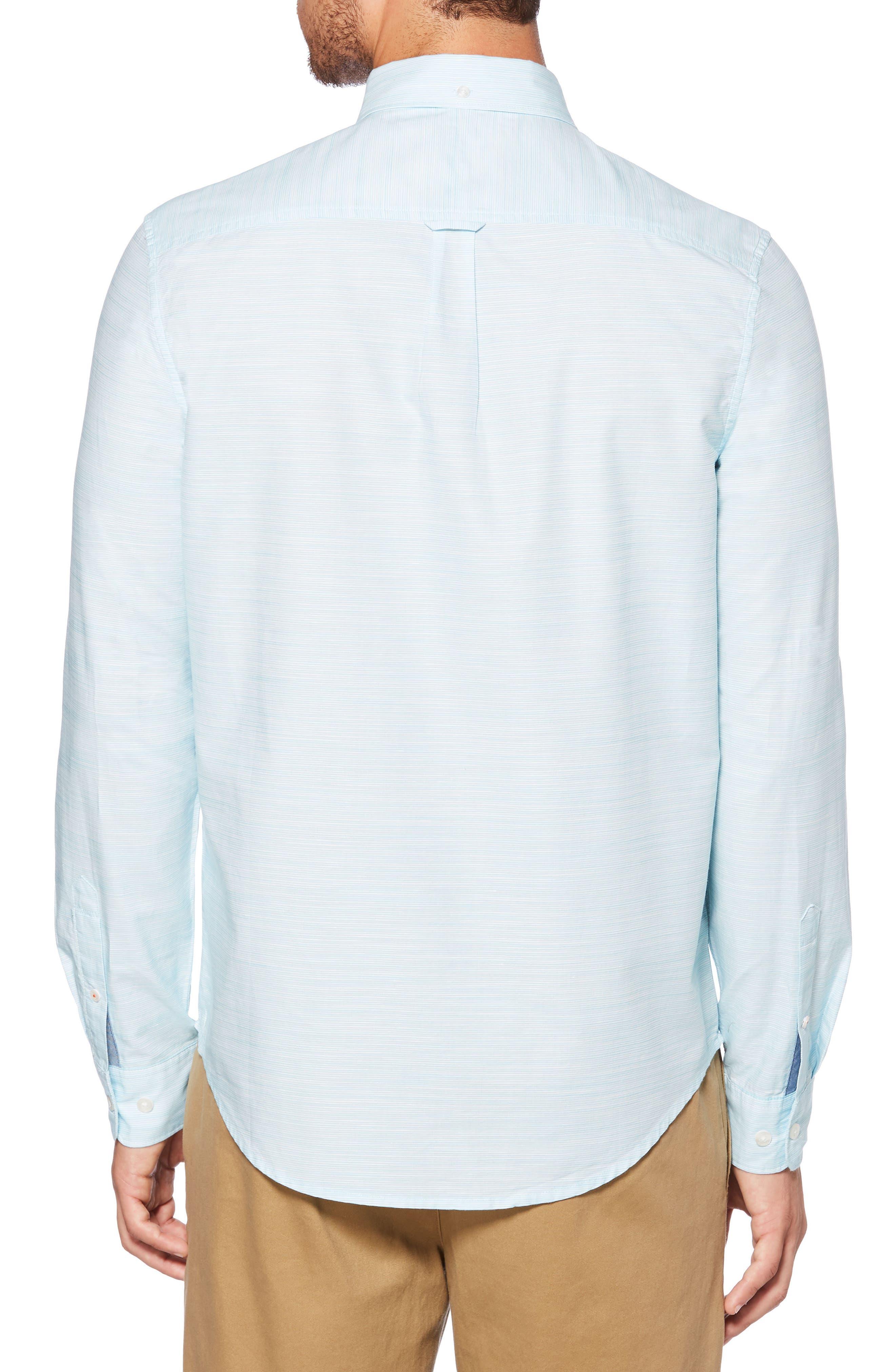 Mini Stripe Shirt,                             Alternate thumbnail 2, color,                             407
