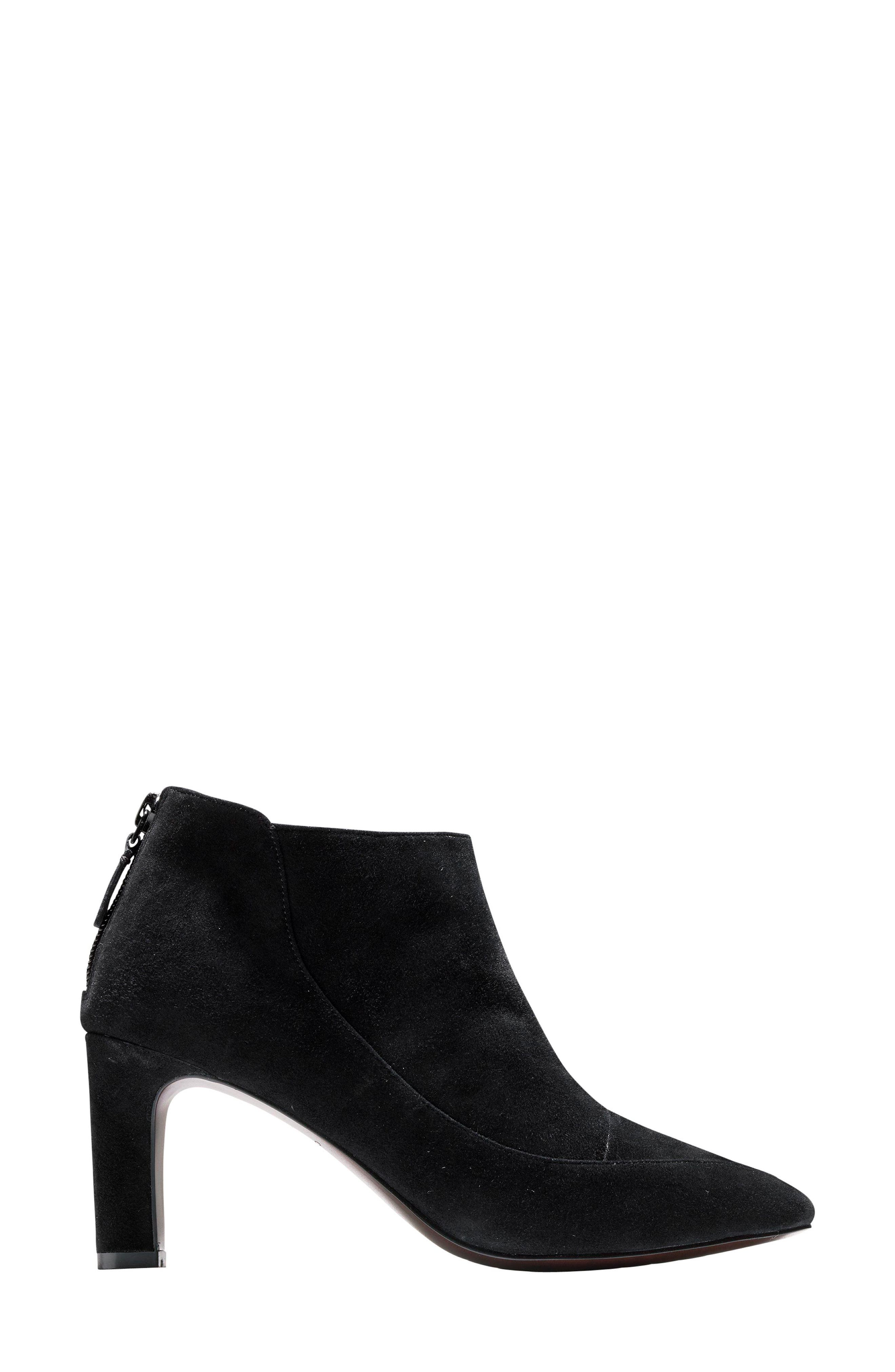 Arlean Pointy Toe Bootie,                             Alternate thumbnail 3, color,                             001