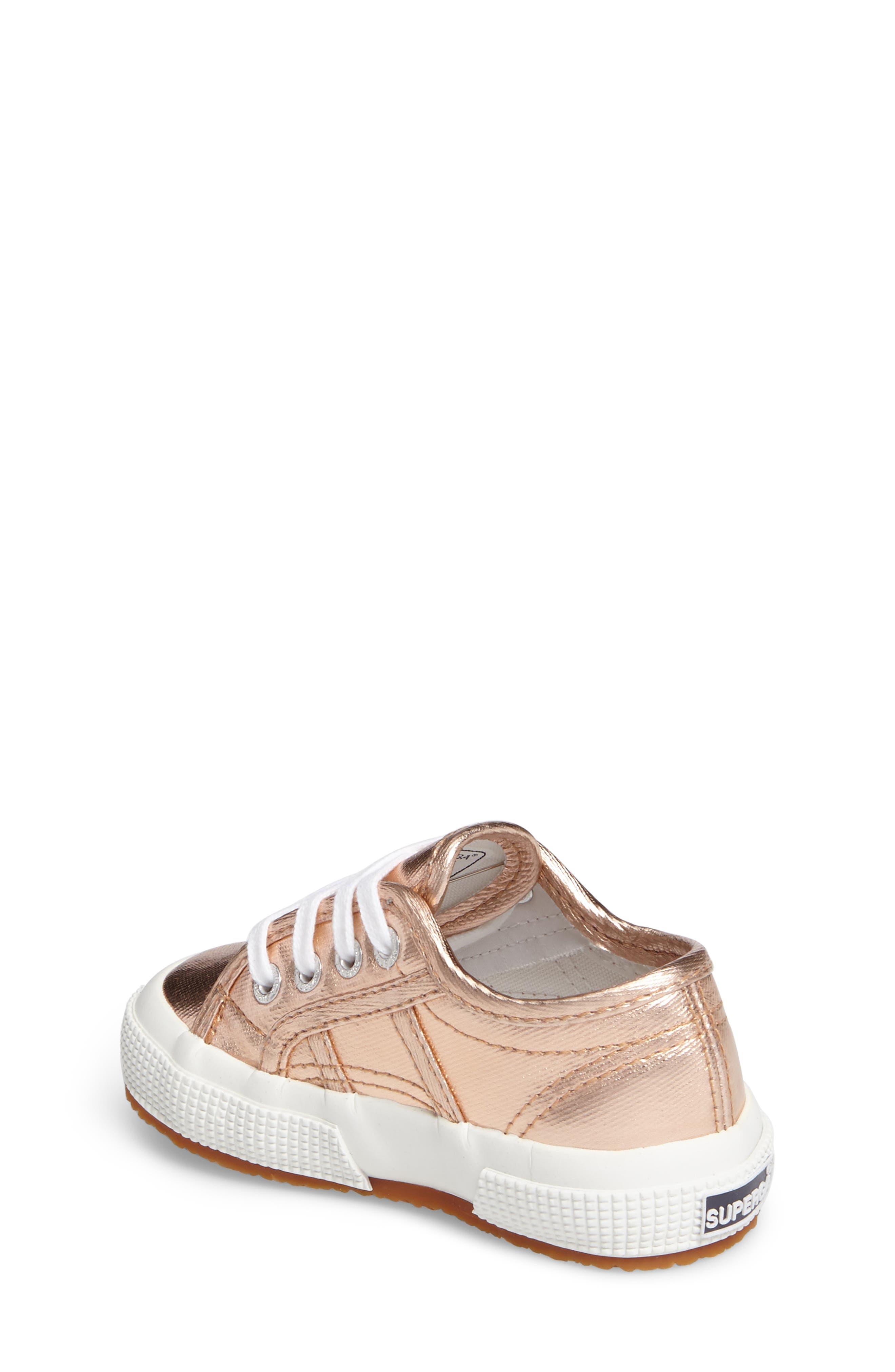 Metallic Sneaker,                             Alternate thumbnail 3, color,