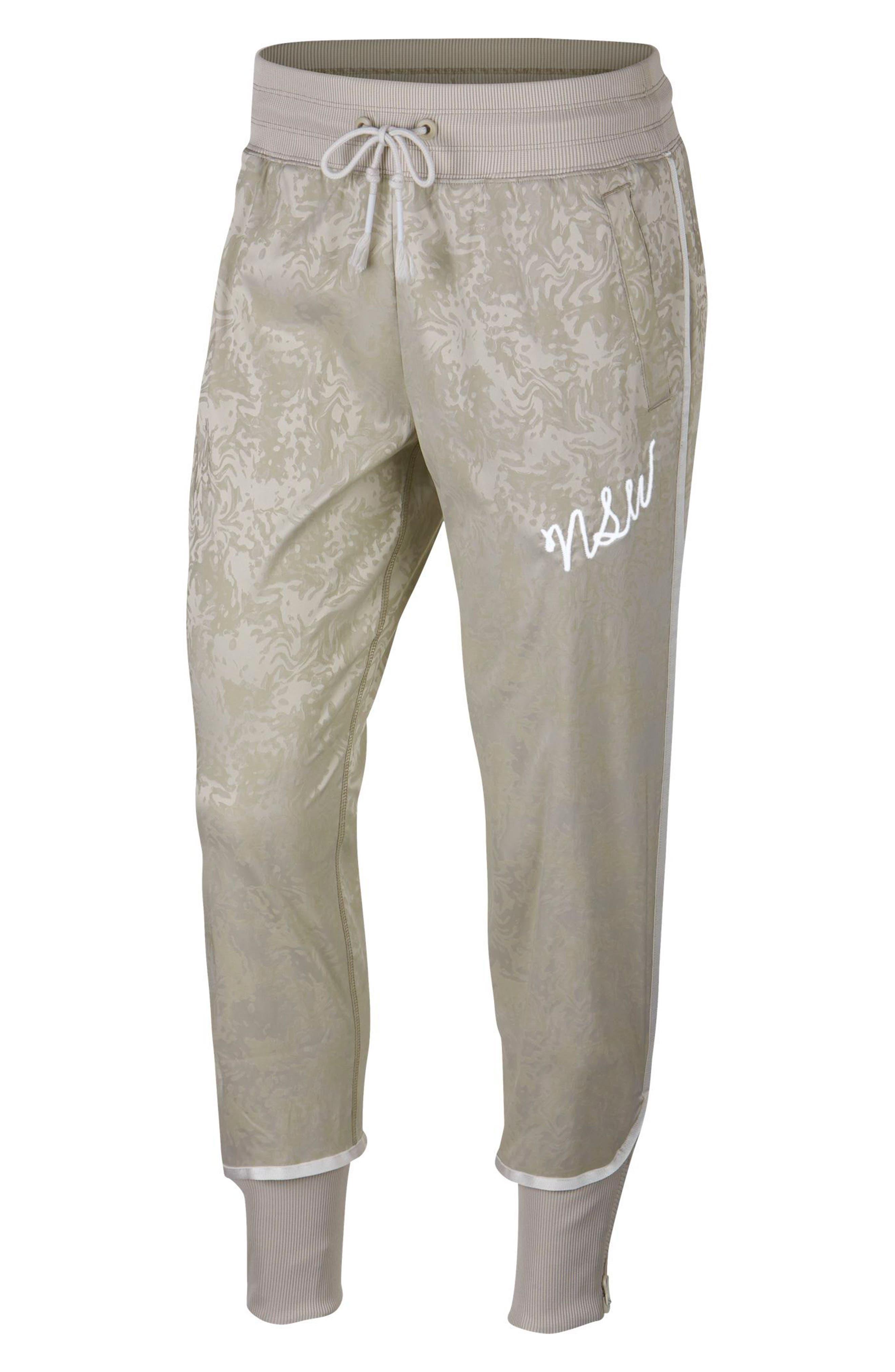 Sportswear NSW Women's Track Pants,                             Main thumbnail 1, color,                             STRING/ PHANTOM/ WHITE