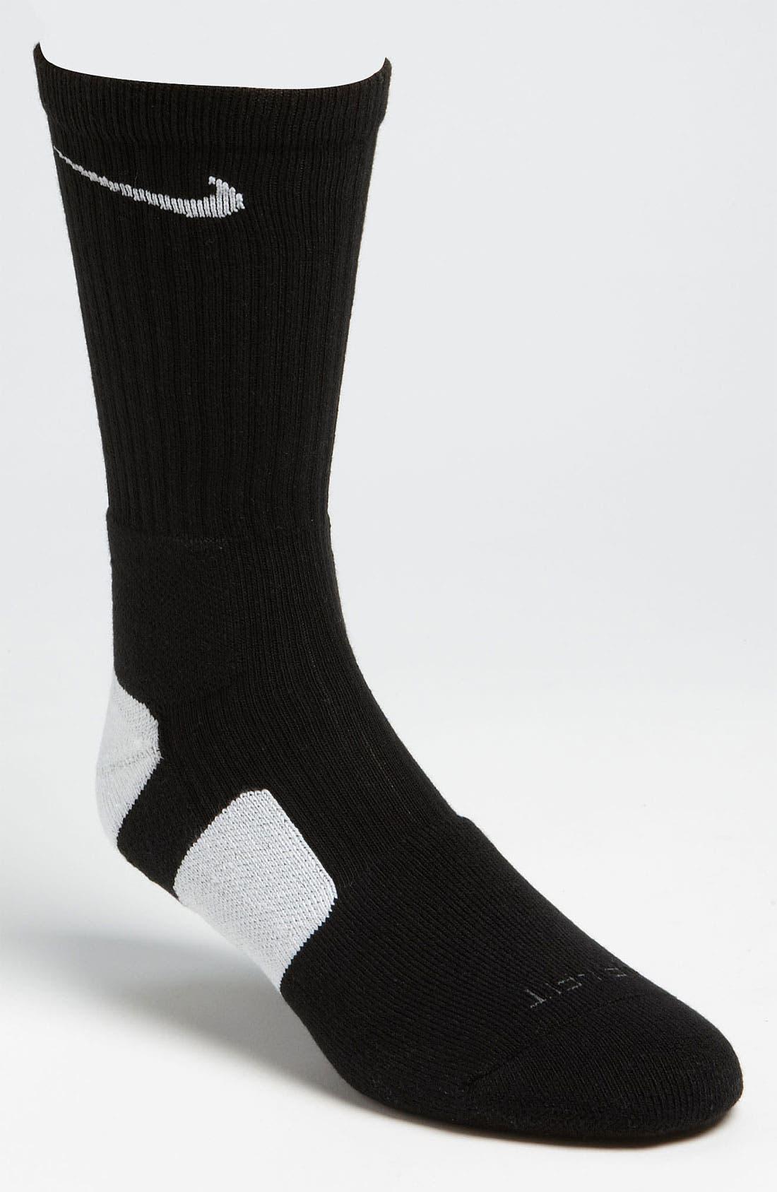 'Elite Basketball' Crew Socks,                             Main thumbnail 16, color,
