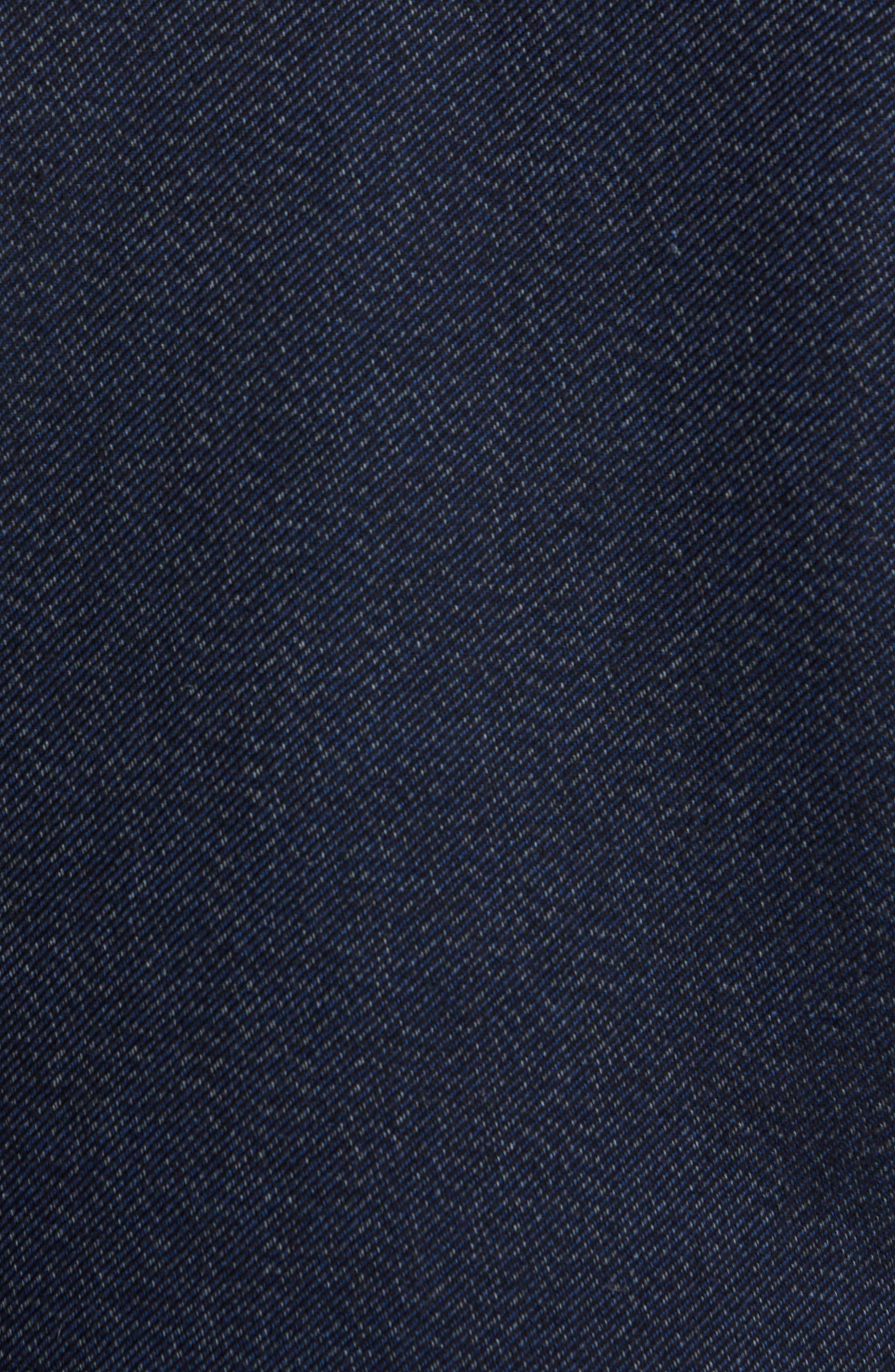 Roll Collar Varsity Jacket,                             Alternate thumbnail 6, color,                             401