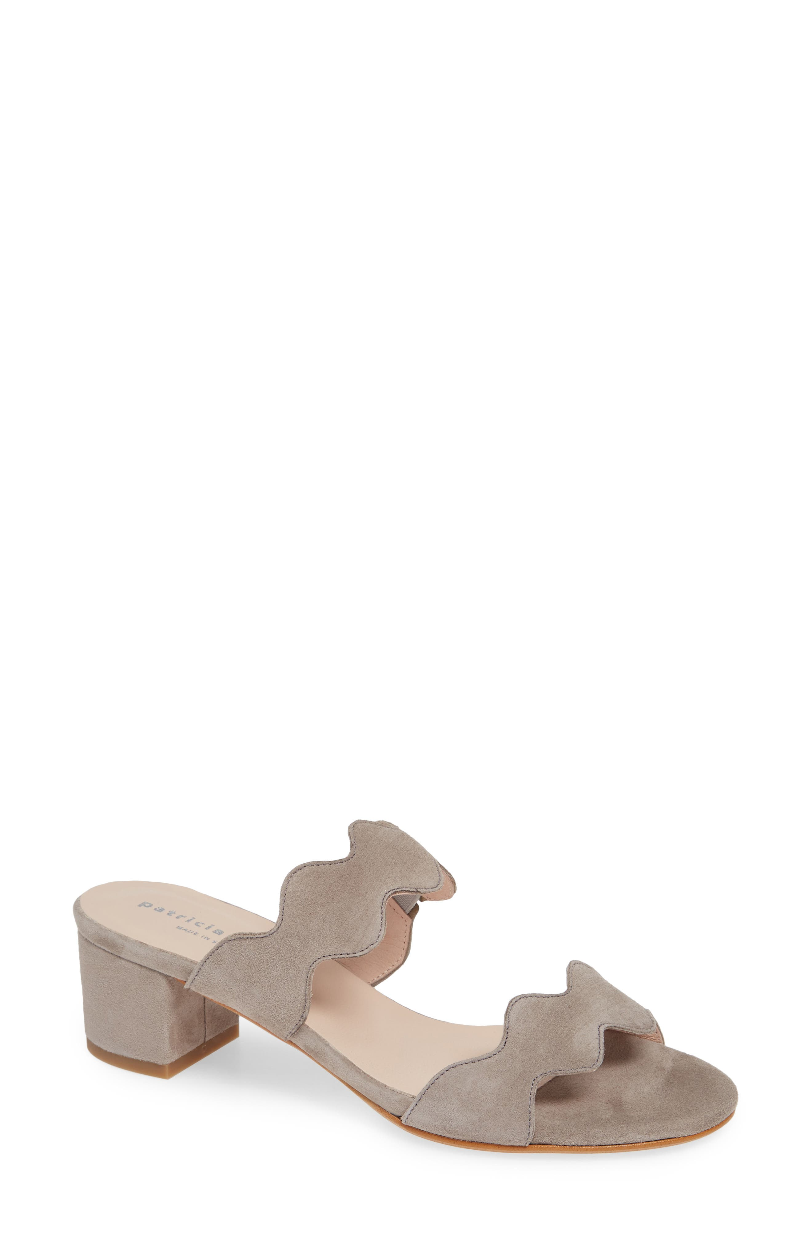 Patricia Green Palm Beach Slide Sandal, Grey