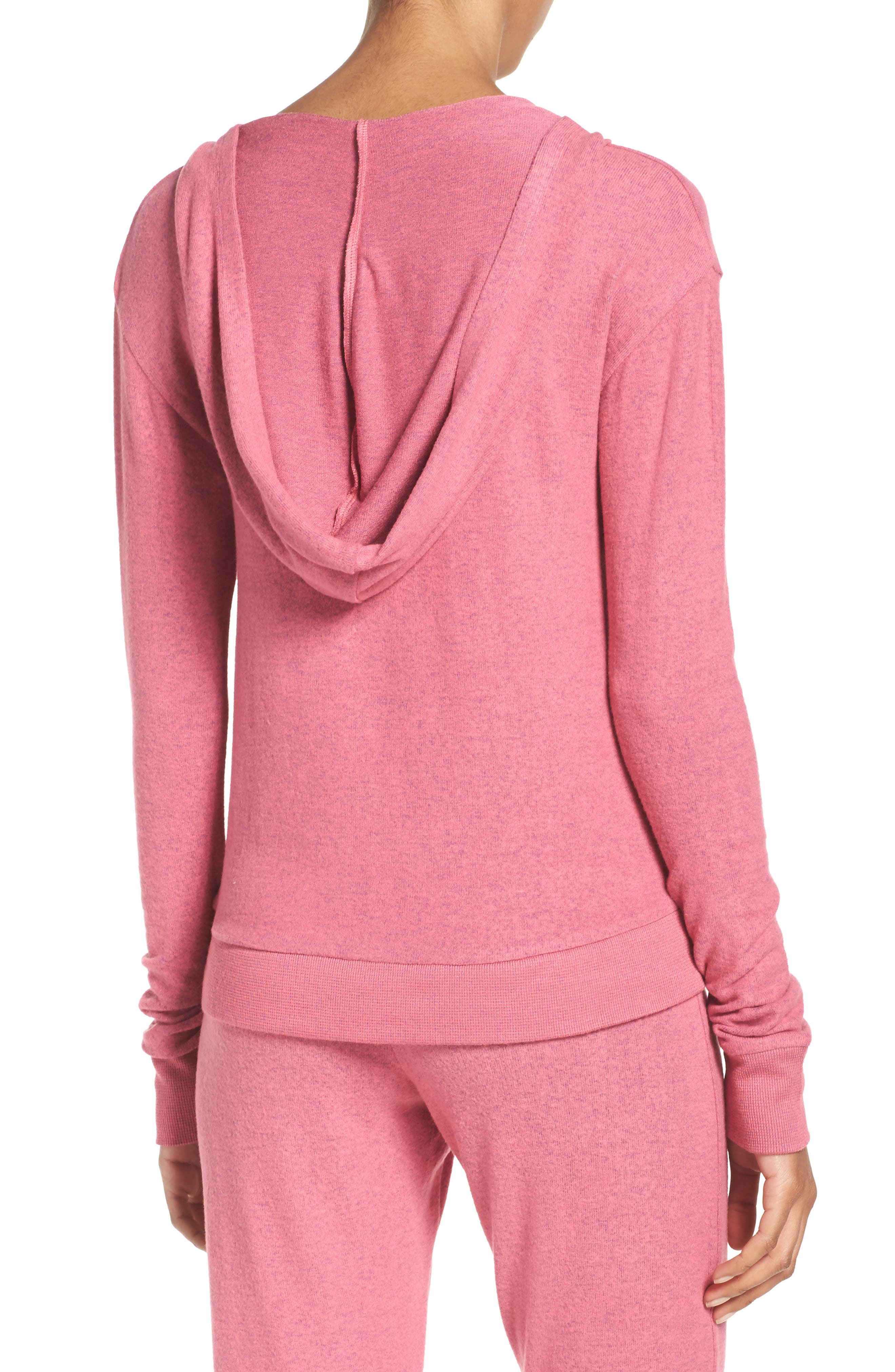 Brushed Hacci Hoodie,                             Alternate thumbnail 15, color,
