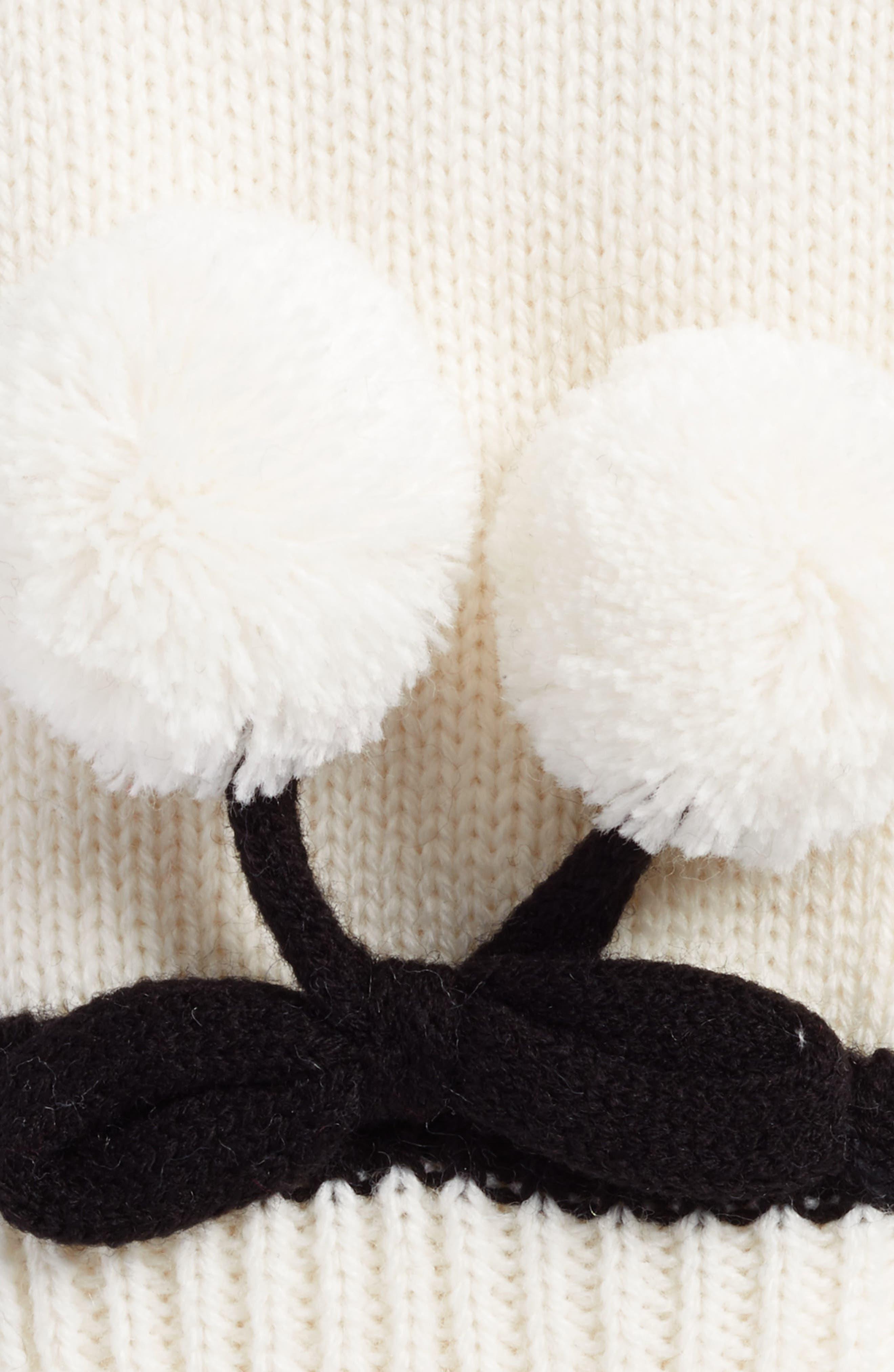 bow pom gloves,                             Alternate thumbnail 2, color,                             142