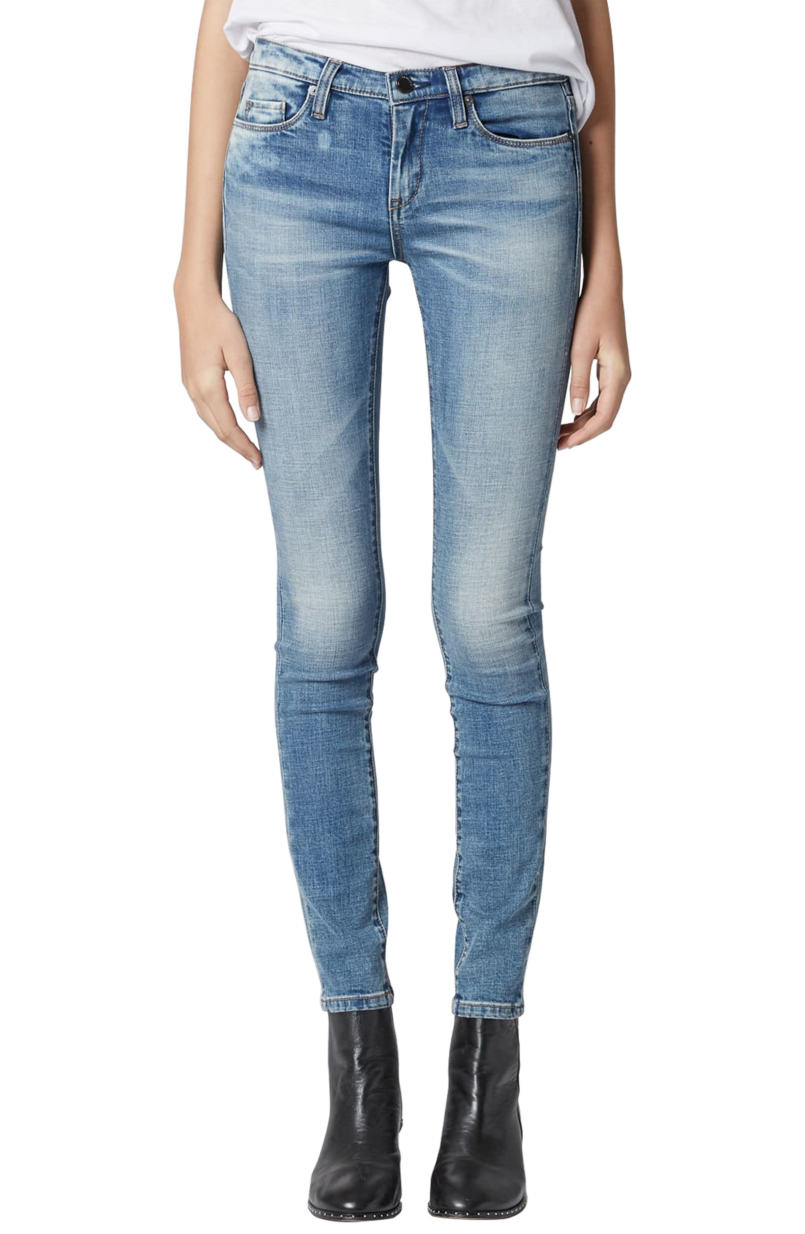 BLANKNYC The Reade Skinny Jeans, Main, color, LAGUNA BEACH