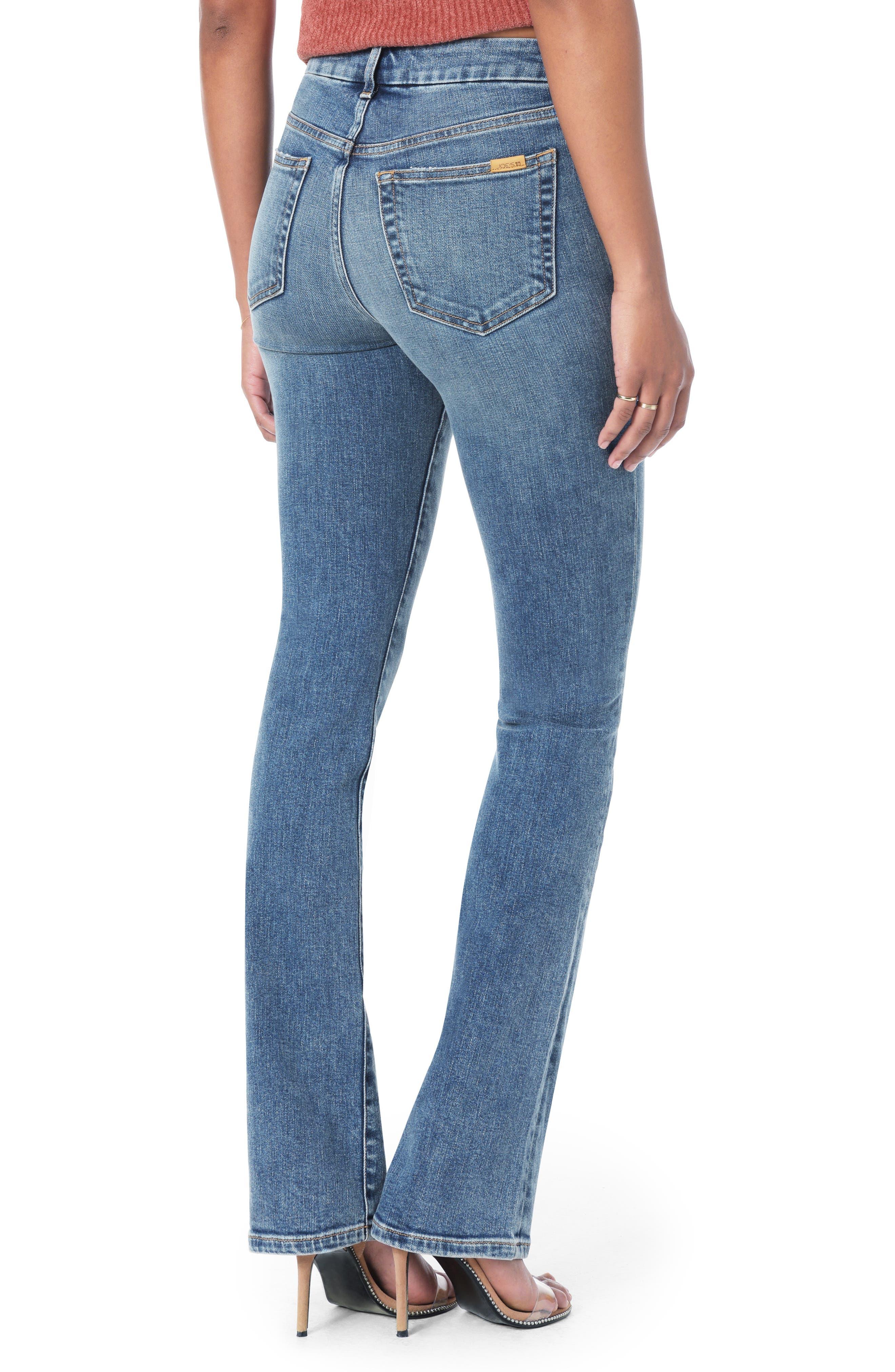 Honey Curvy High Waist Bootcut Jeans,                             Alternate thumbnail 2, color,                             CHRISELLE