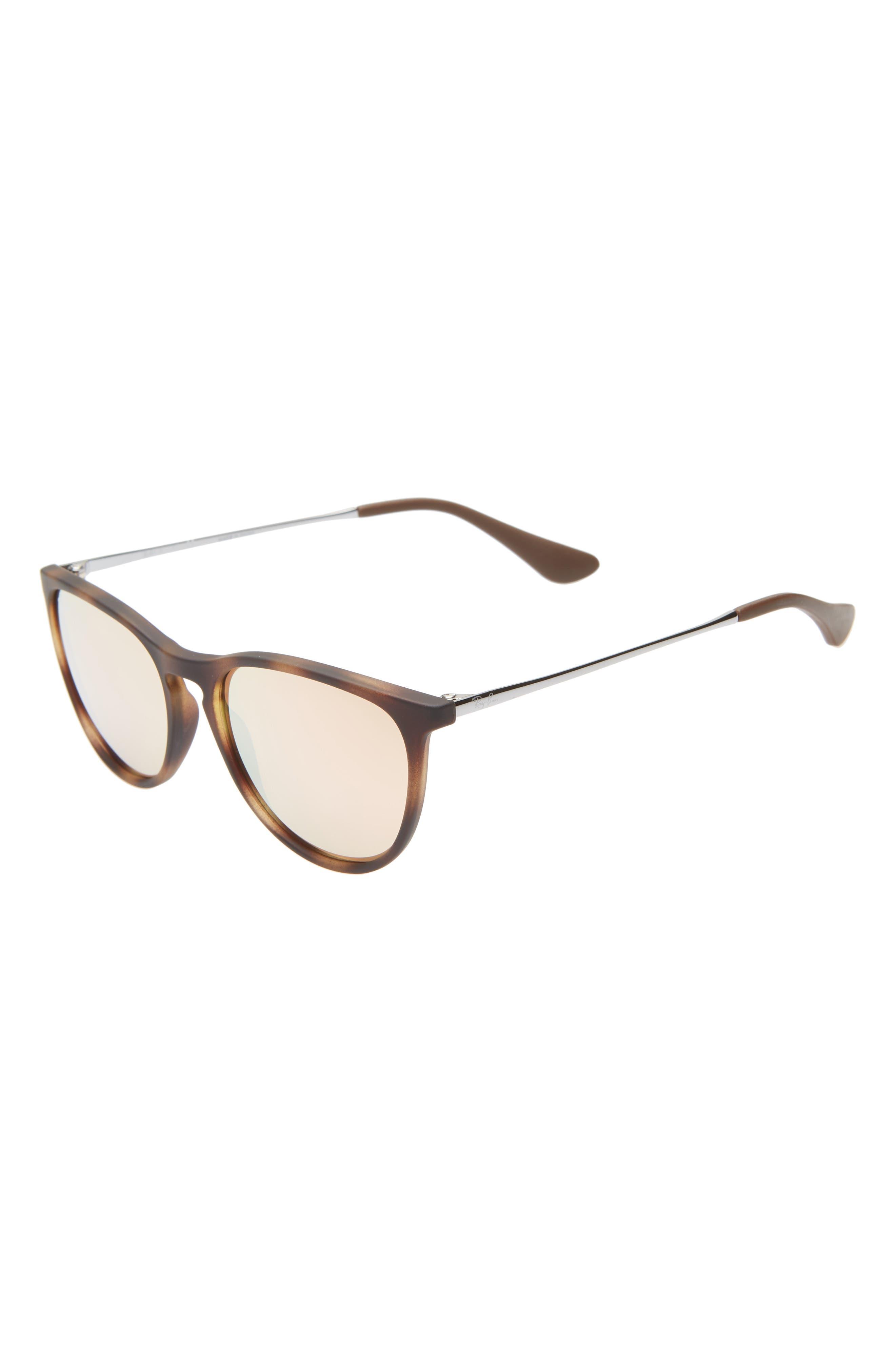 Ray-Bay Junior Izzy 50Mm Mirrored Sunglasses - Tortoise/ Pink Mirror