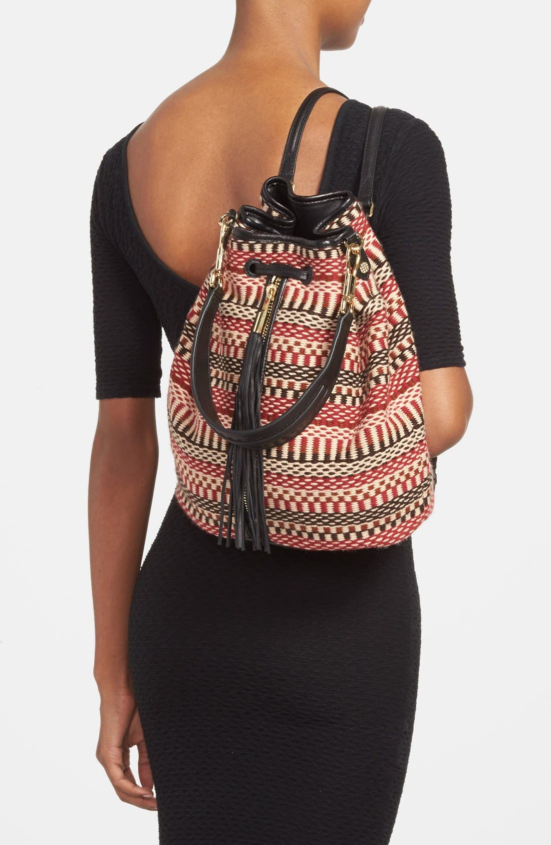 'Cynnie' Sling Backpack,                             Alternate thumbnail 3, color,                             610