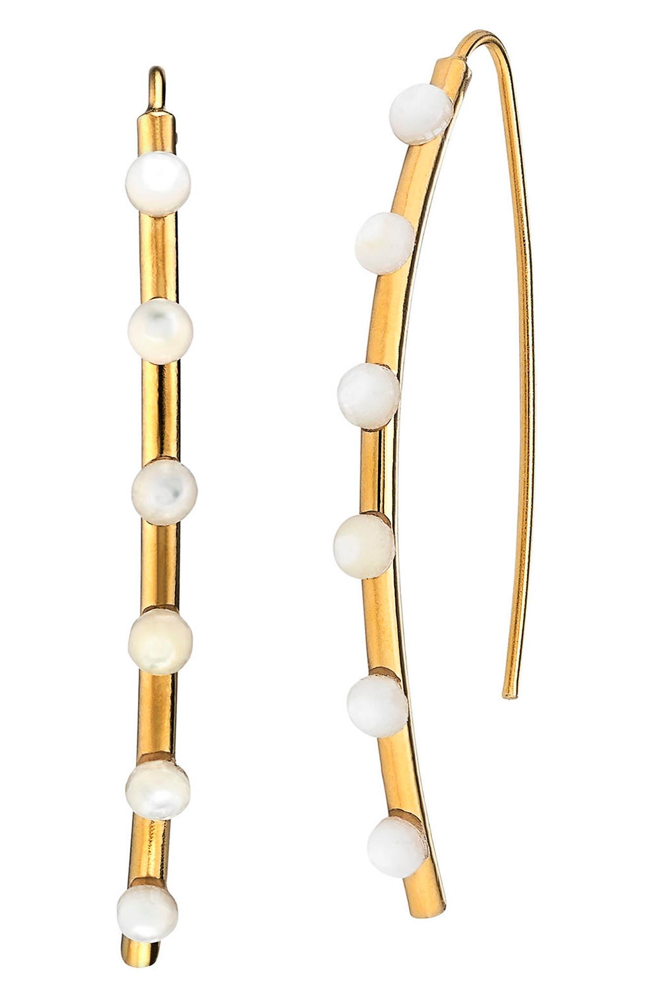 Emilia Small Earrings,                         Main,                         color, 100
