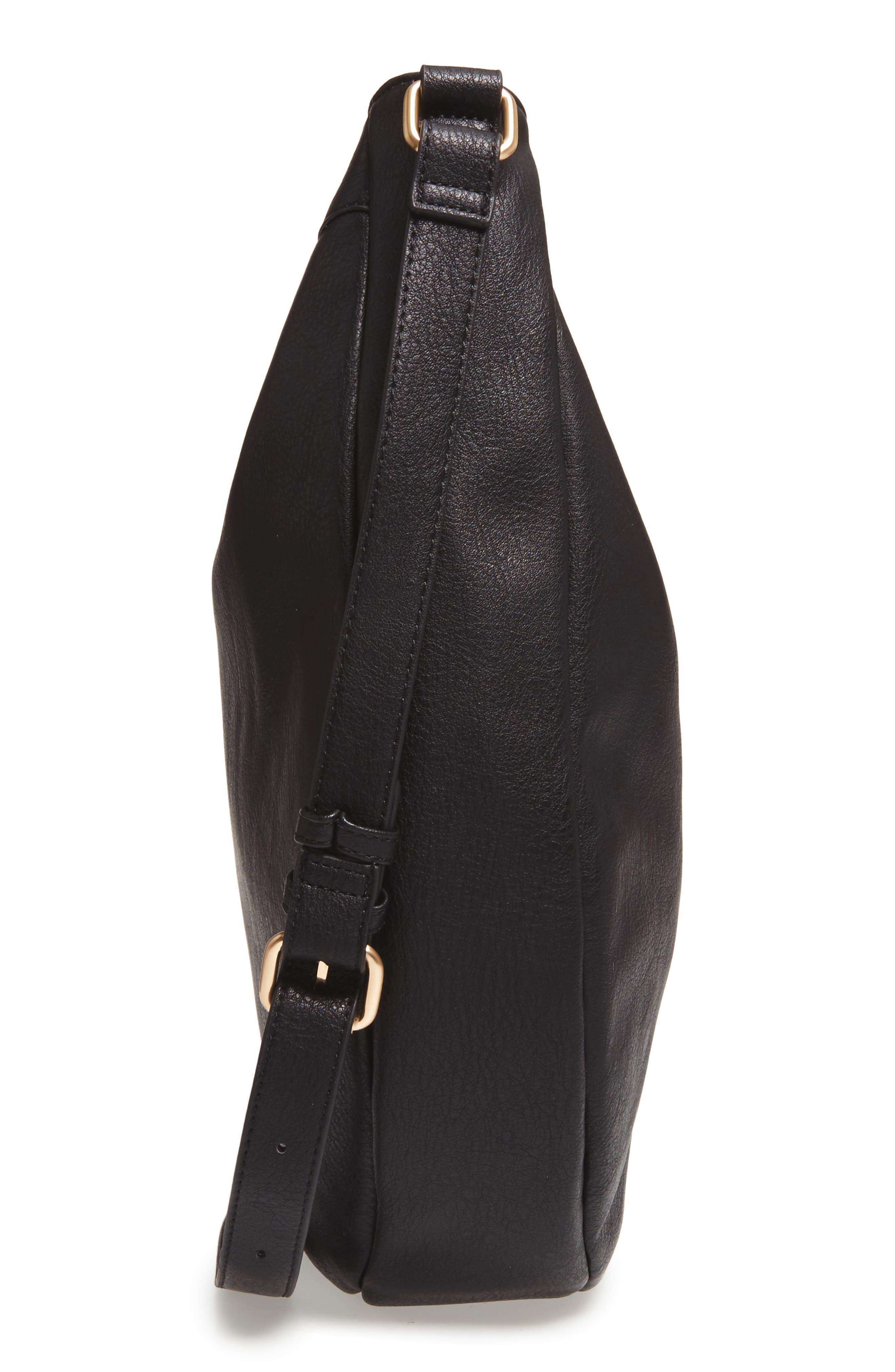 Kadence Faux Leather Shoulder Bag,                             Alternate thumbnail 9, color,