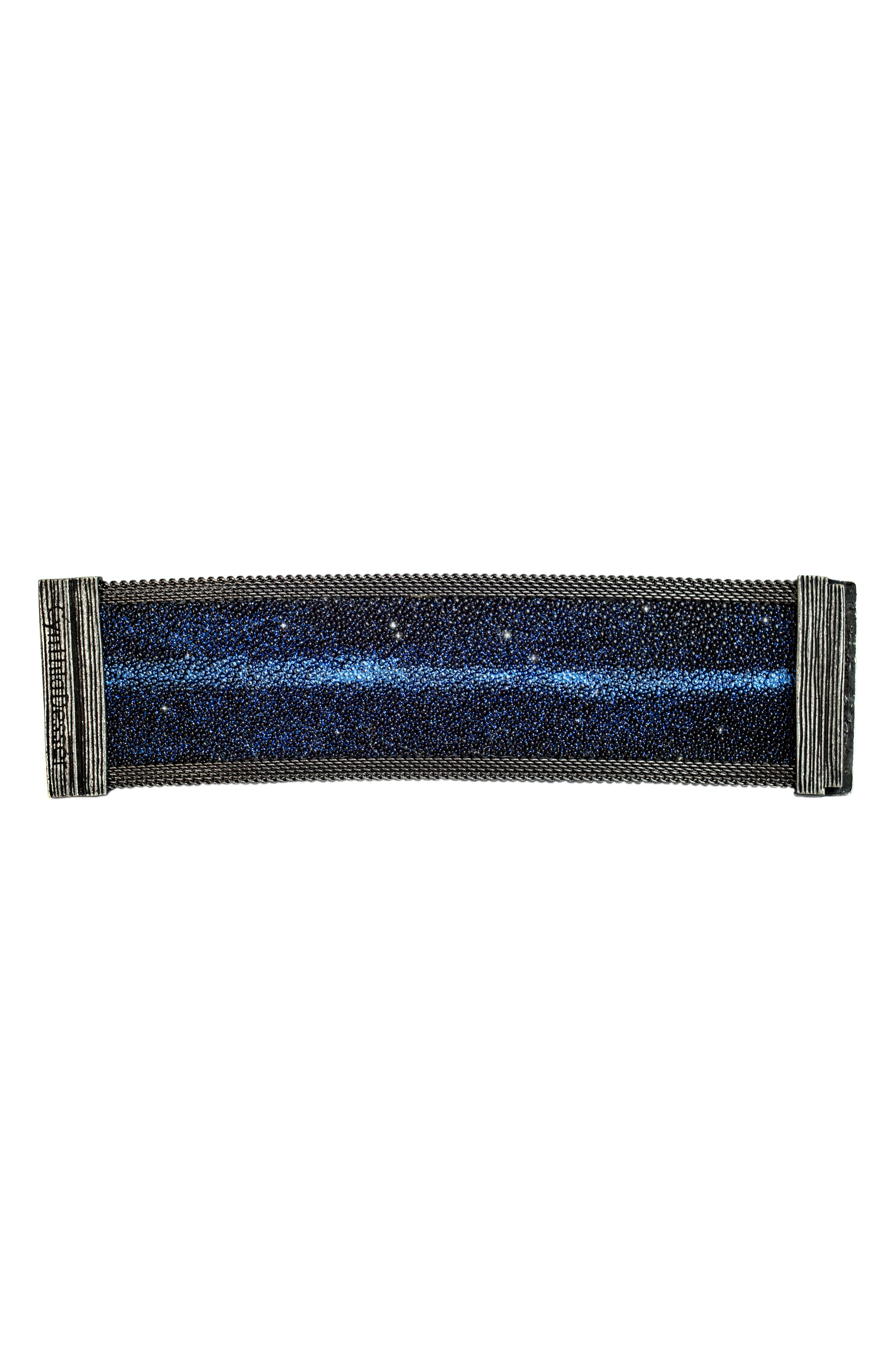 Shimmer Stingray Bracelet,                             Alternate thumbnail 3, color,                             420