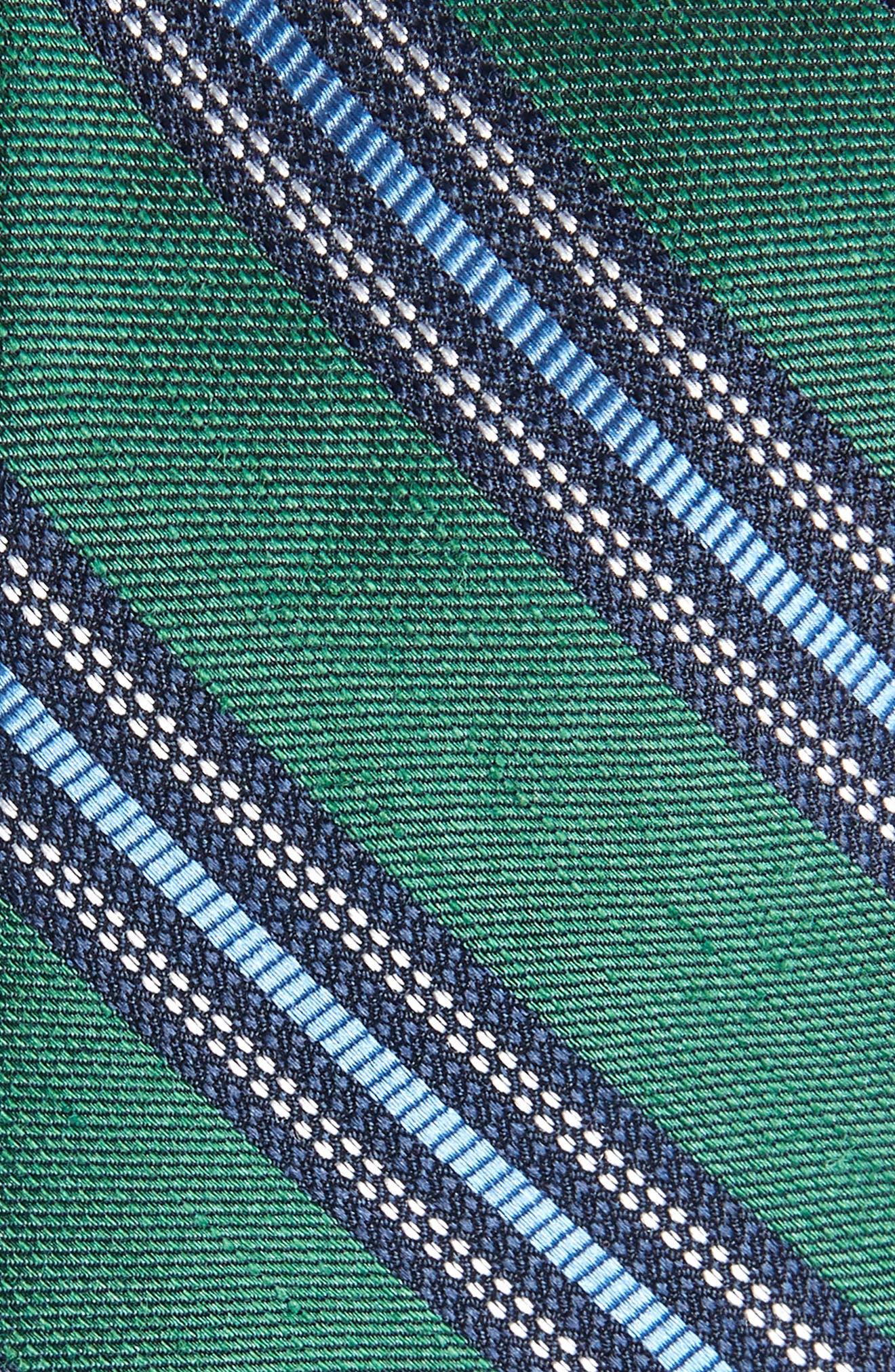 Rangel Stripe Silk & Linen Tie,                             Alternate thumbnail 2, color,                             300