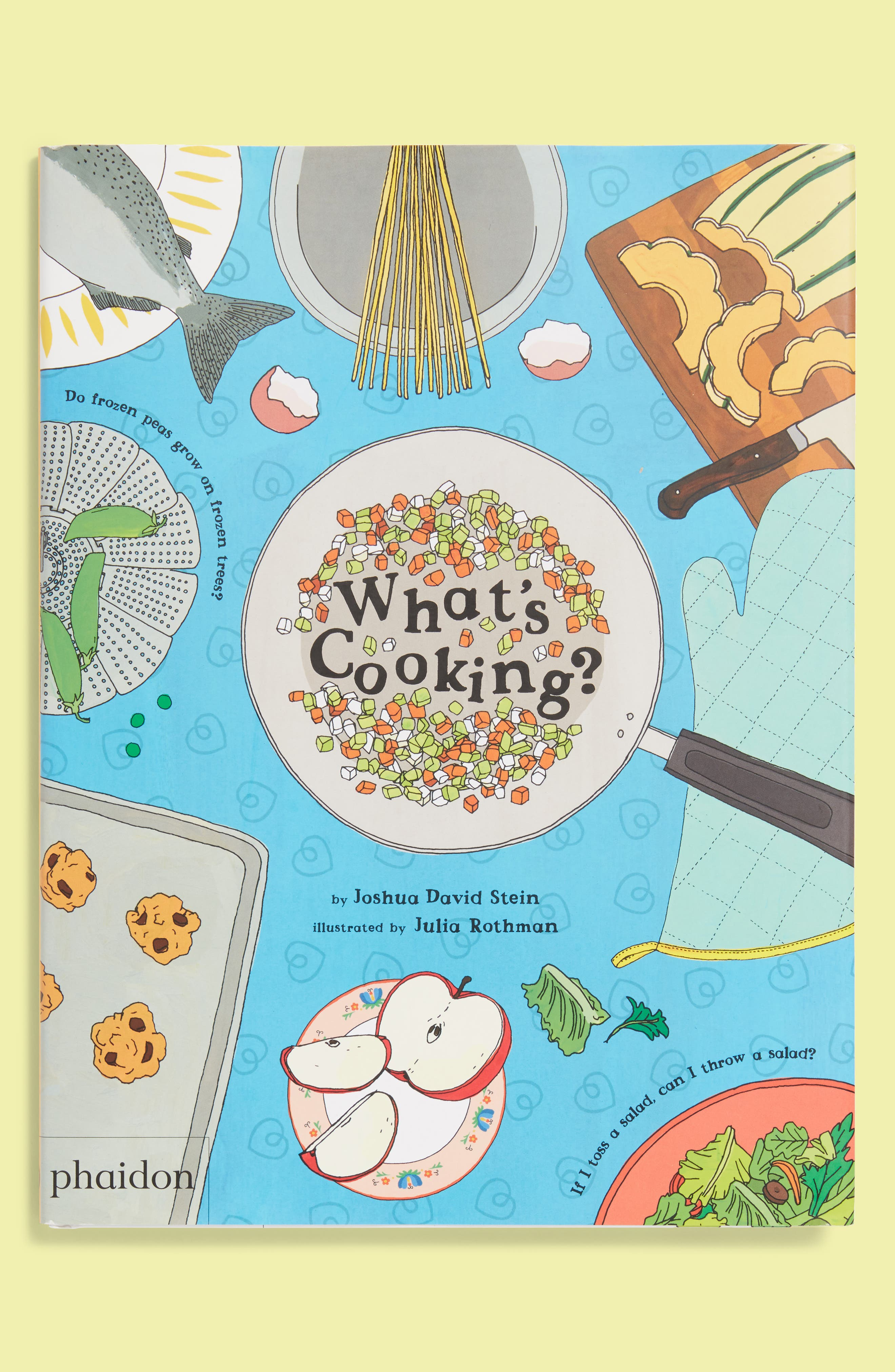 What's Cooking Book,                         Main,                         color, 960
