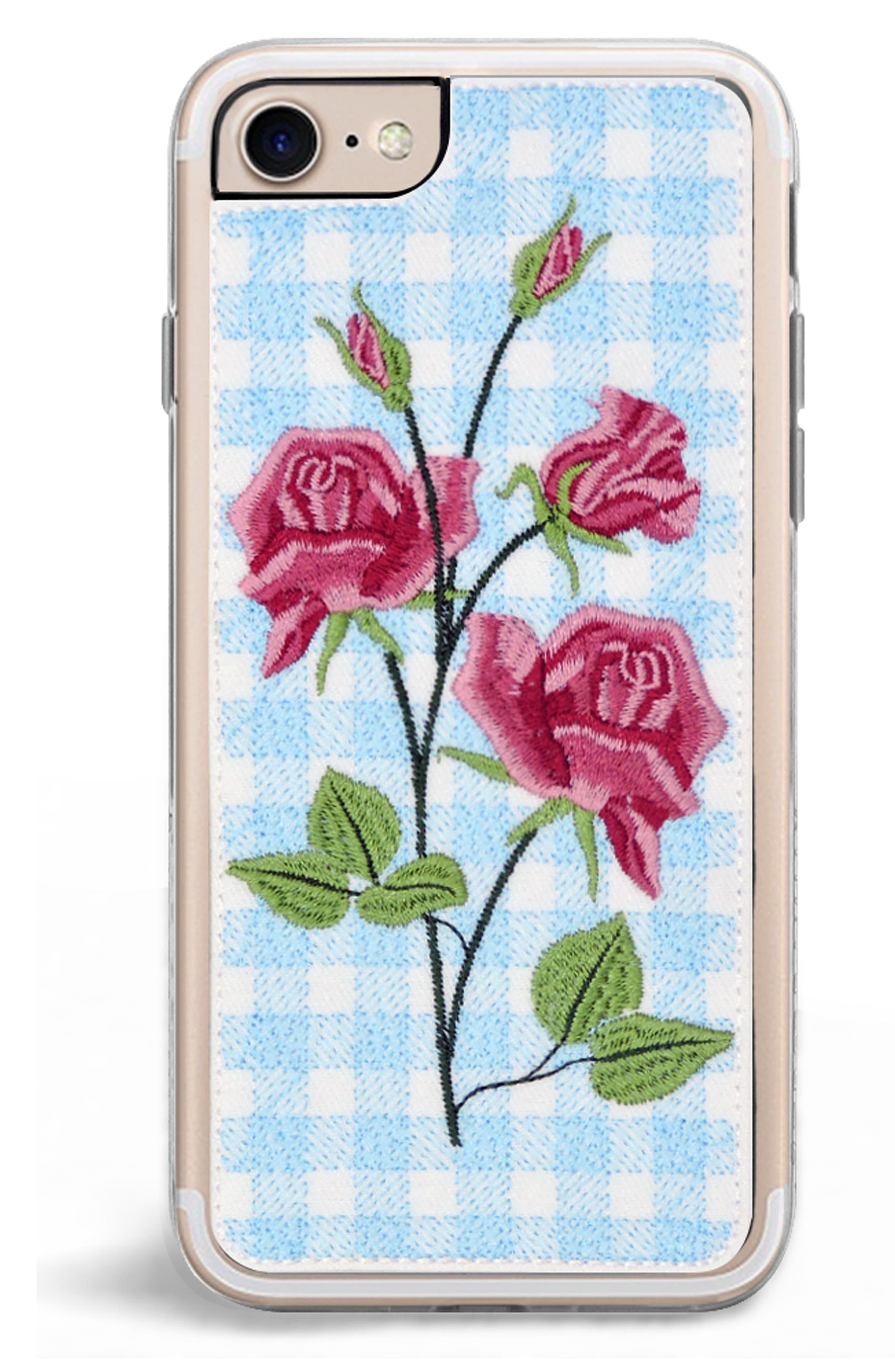 Bardot iPhone 7/8 & 7/8 Plus Case,                             Alternate thumbnail 2, color,                             BLUE MULTI