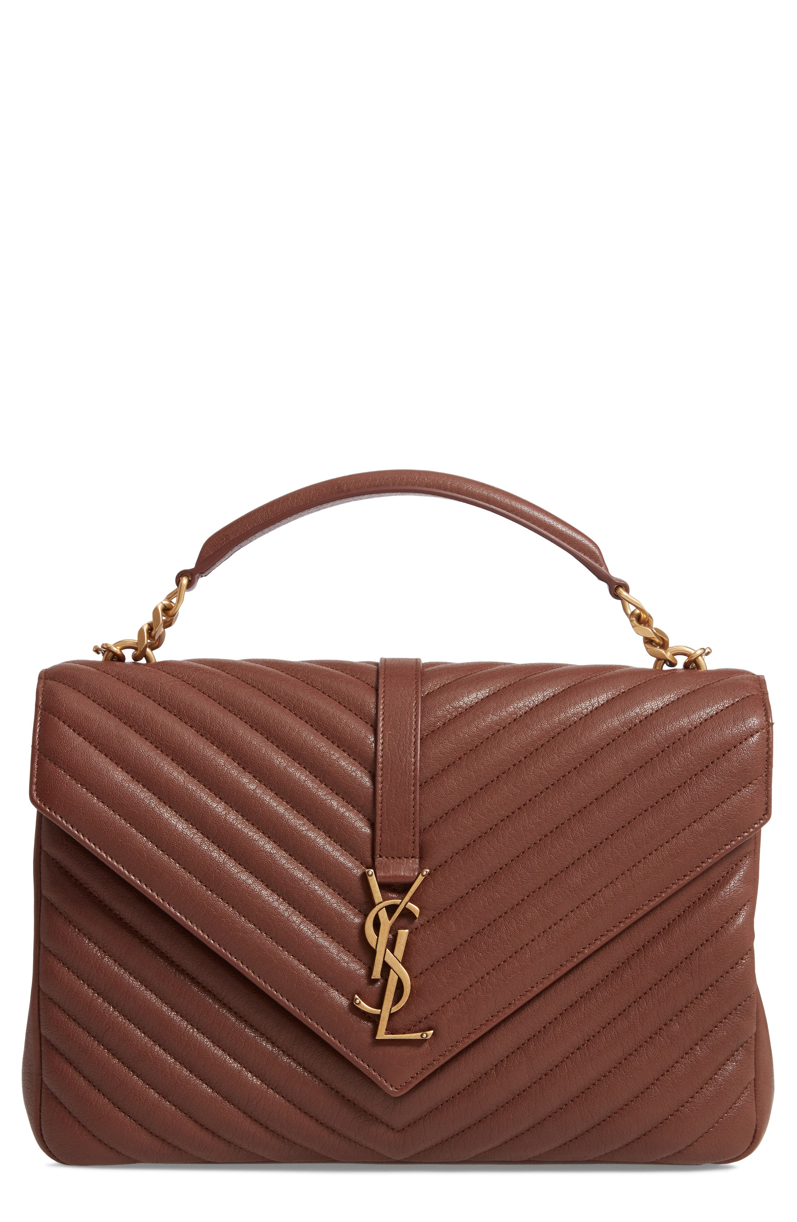 Medium College Shoulder Bag by Saint Laurent