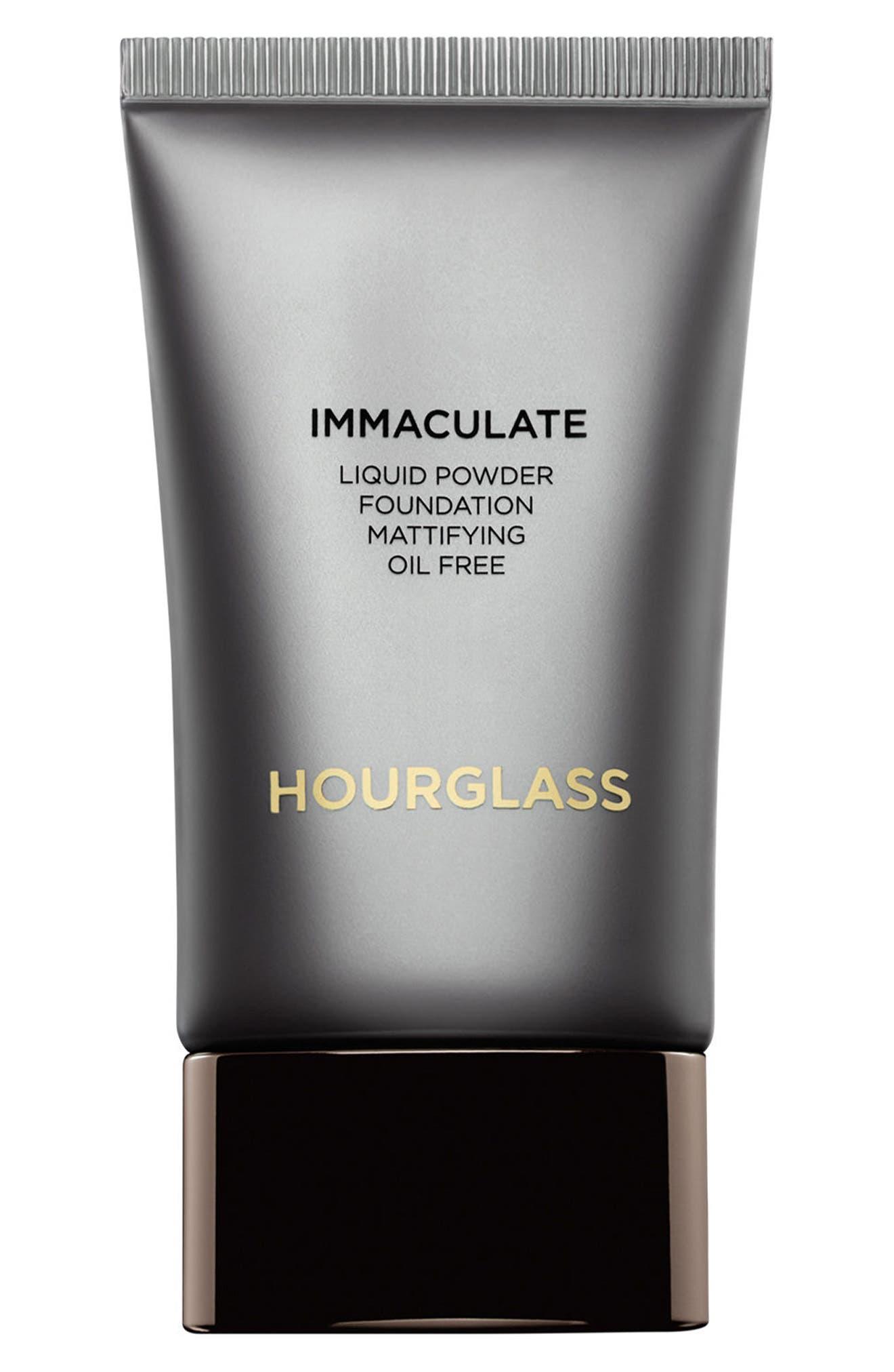 Immaculate<sup>®</sup> Liquid Powder Foundation,                         Main,                         color, BLANC