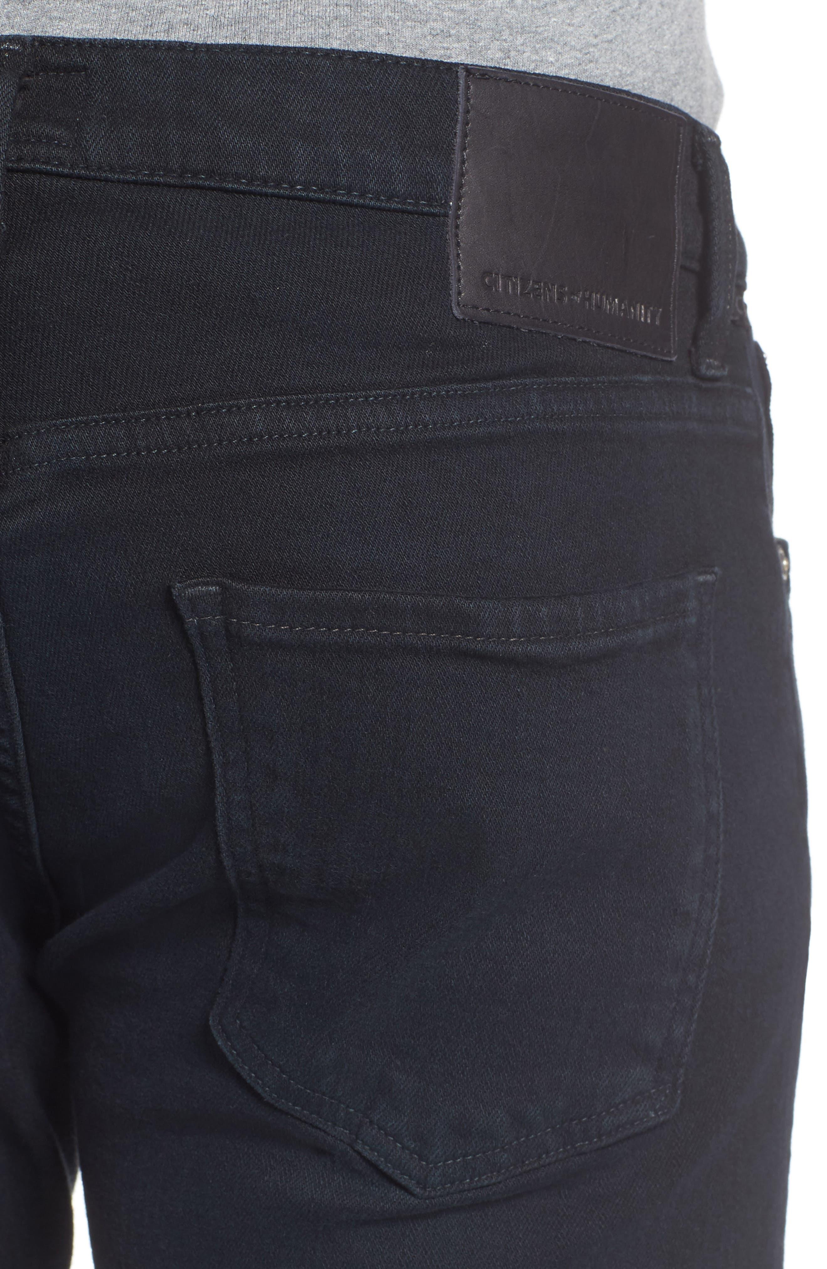 Gage Slim Straight Leg Jeans,                             Alternate thumbnail 4, color,                             401