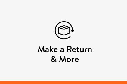 Make a return and more.