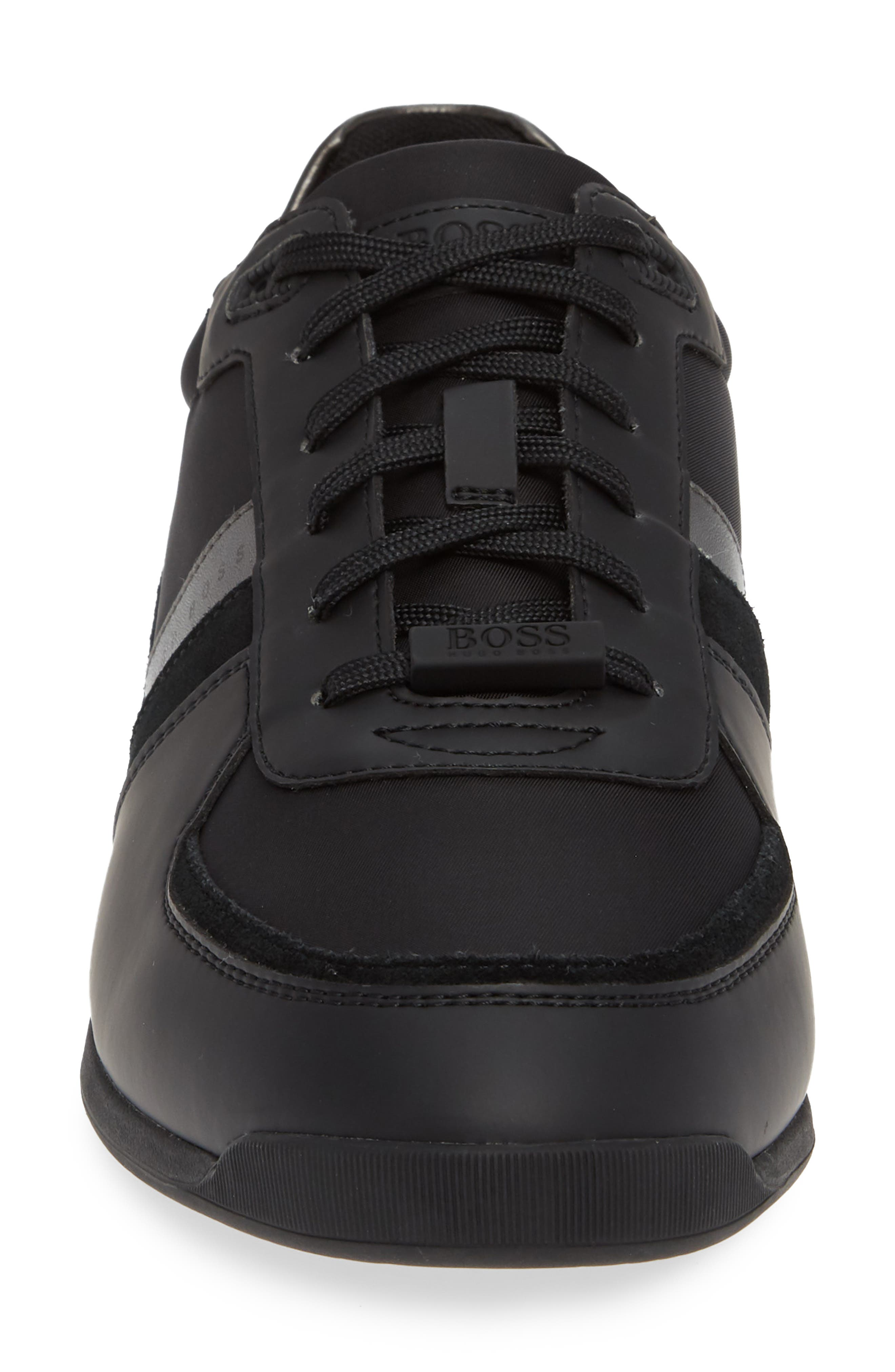 Maze Sneaker,                             Alternate thumbnail 4, color,                             BLACK