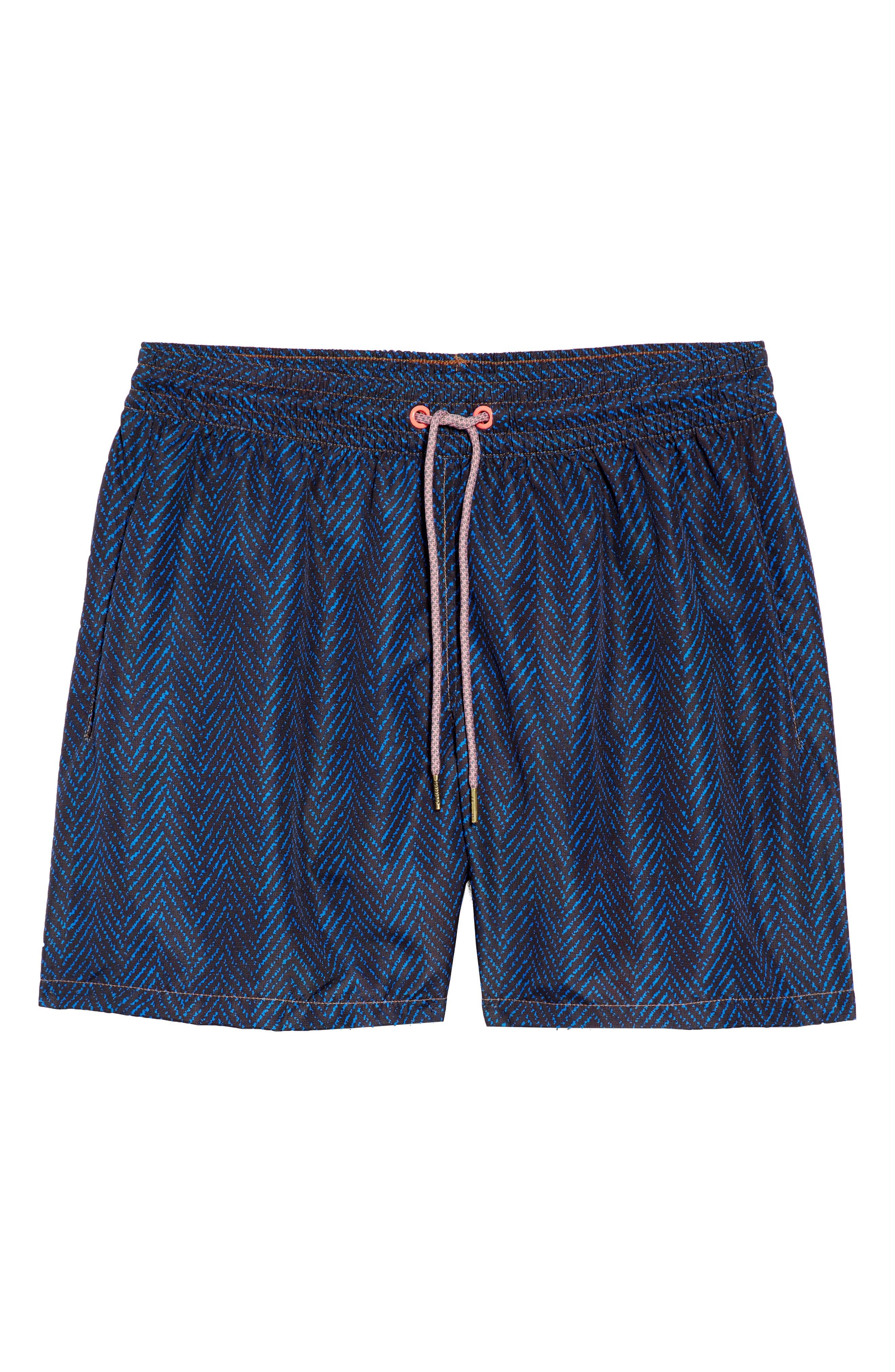 Bells Beach Swim Trunks,                             Alternate thumbnail 7, color,                             BLUE
