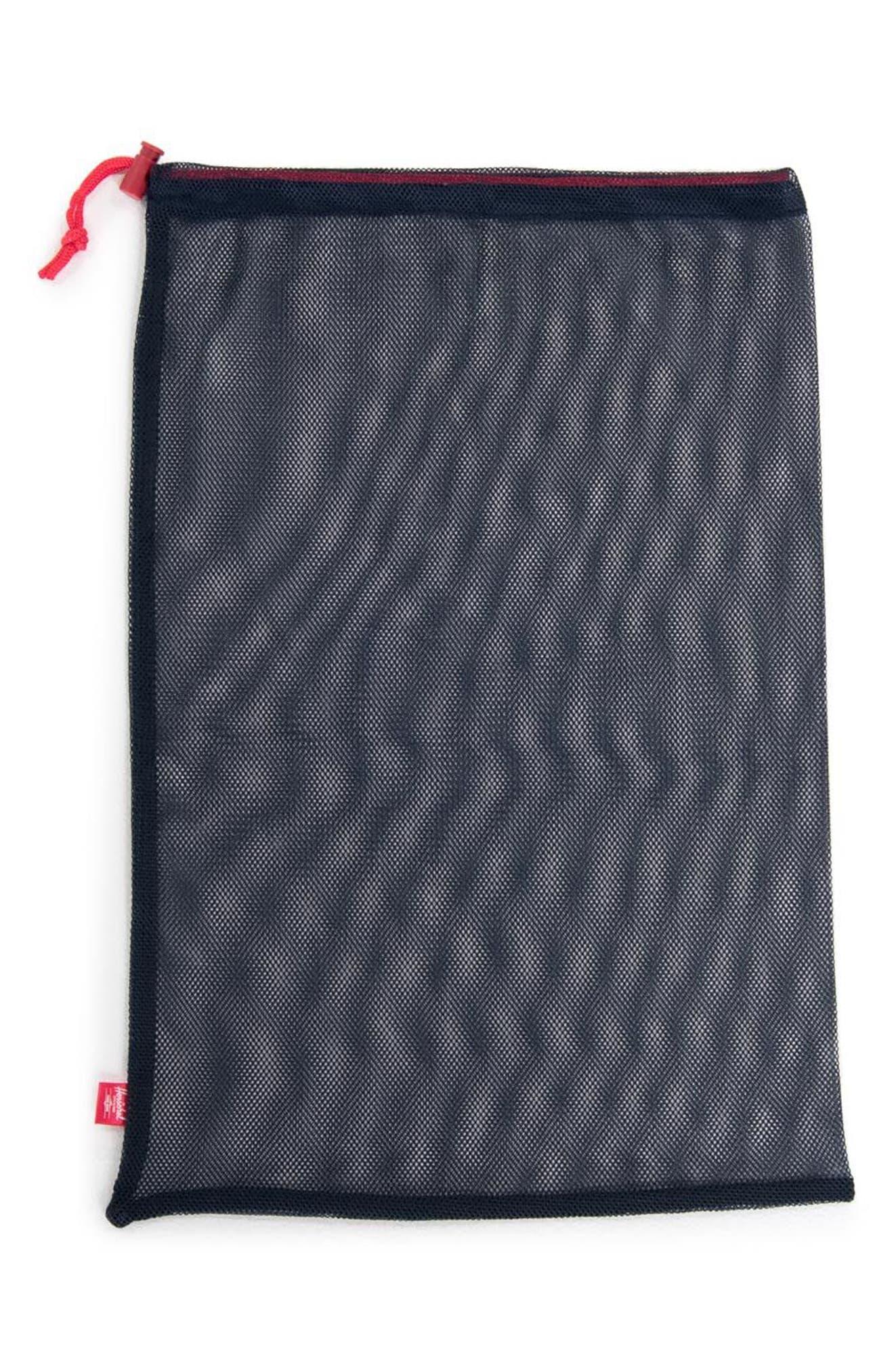 Laundry Bag Set,                             Alternate thumbnail 2, color,                             NAVY/ RED