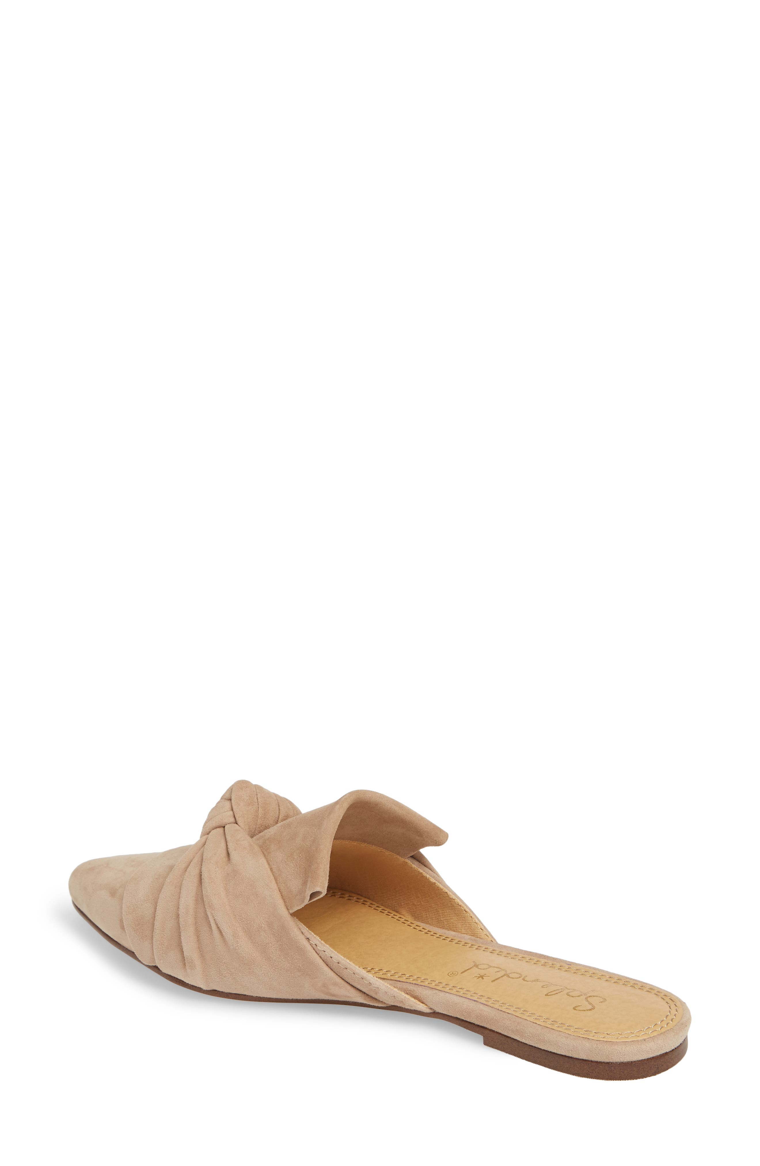 Bassett Knotted Pointy Toe Mule,                             Alternate thumbnail 5, color,