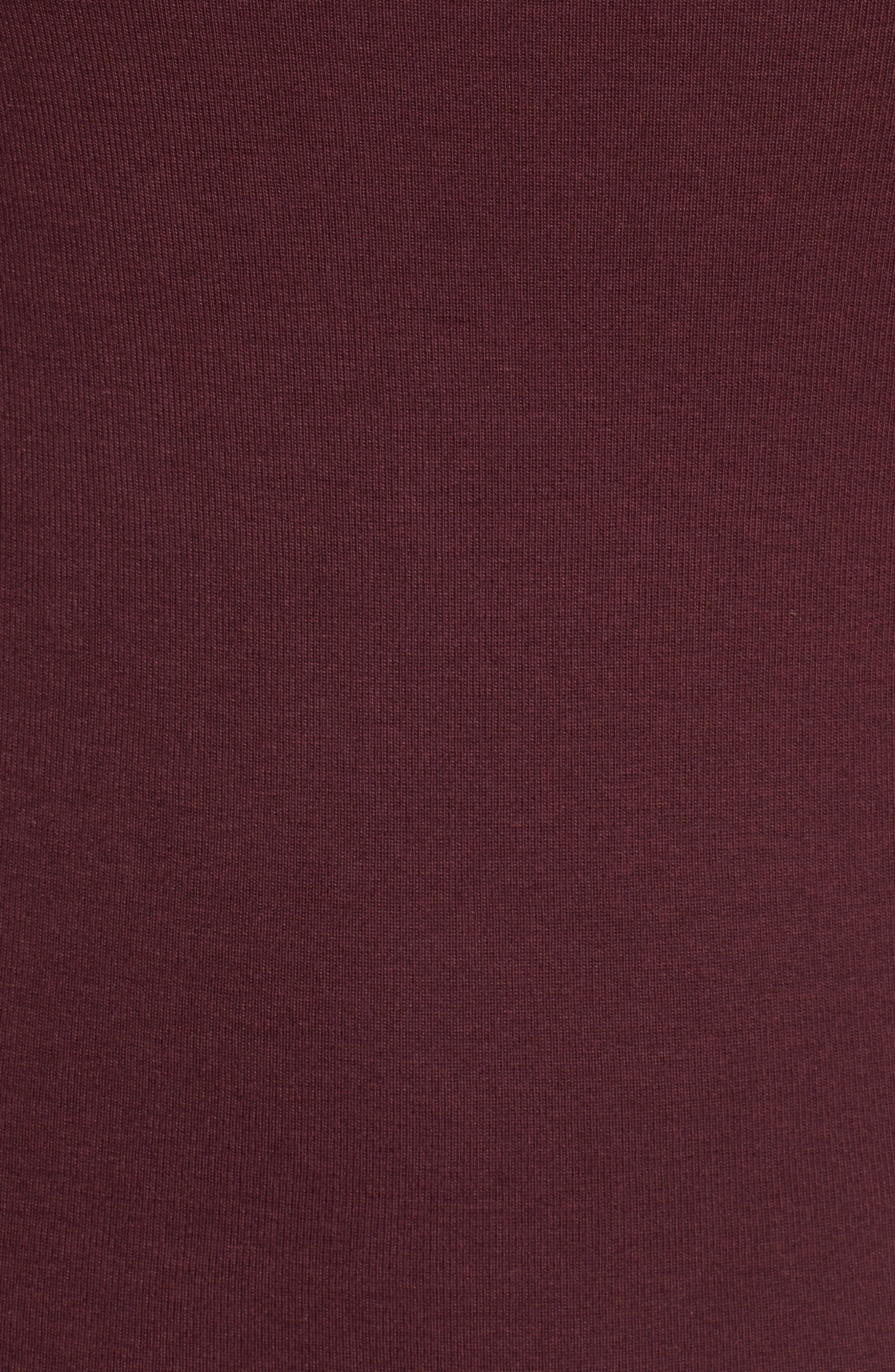 Three Quarter Sleeve Tee,                             Alternate thumbnail 110, color,