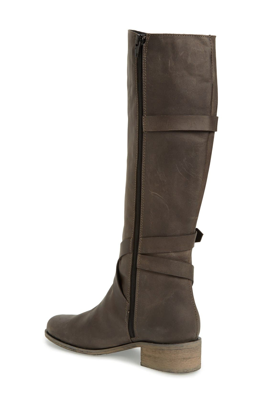 'Germana' Riding Boot,                             Alternate thumbnail 2, color,                             001