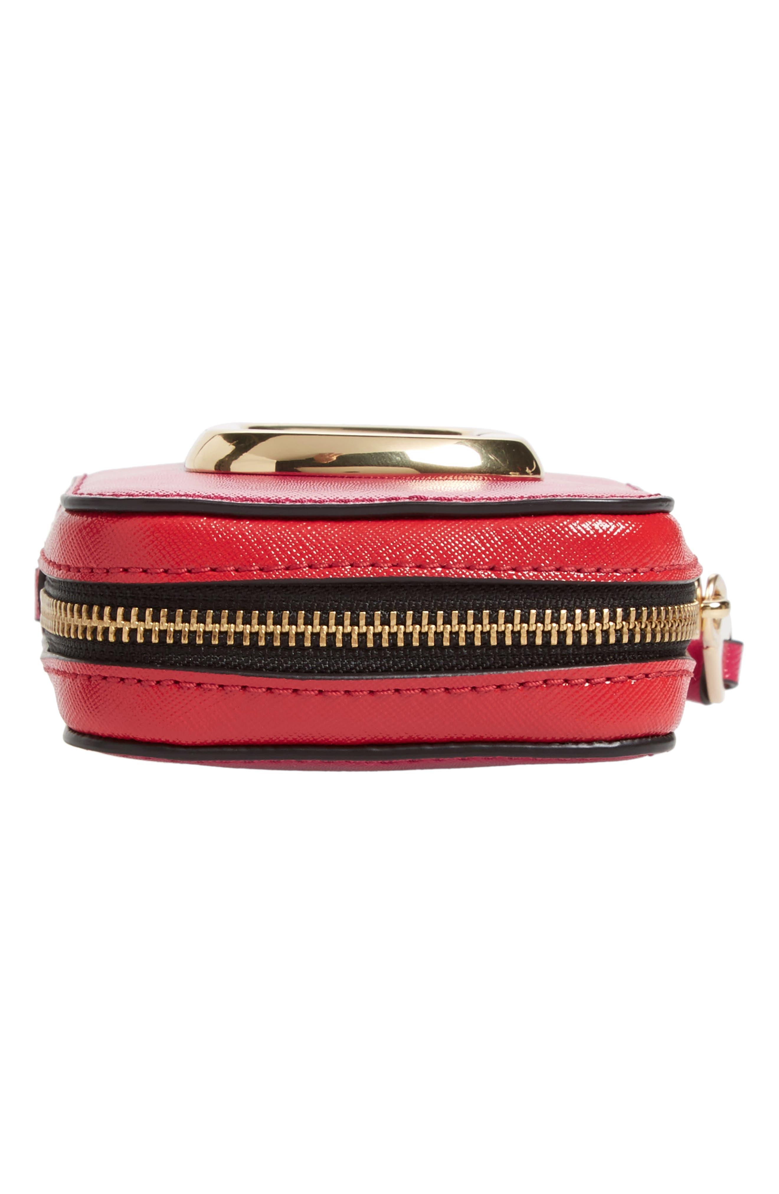 Hot Shot Saffiano Leather Shoulder Bag,                             Alternate thumbnail 22, color,