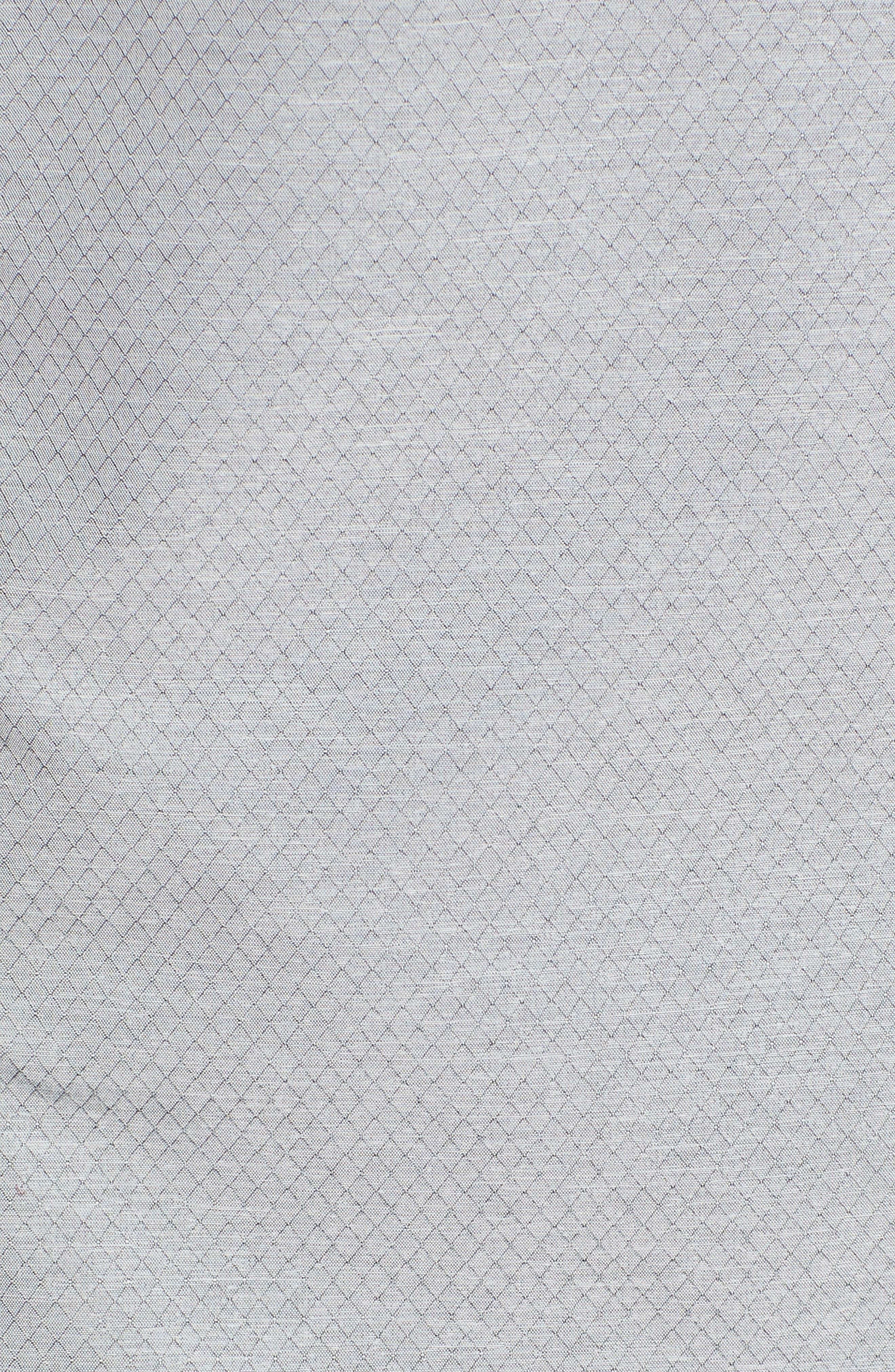 oyage Wind Hooded Jacket,                             Alternate thumbnail 7, color,                             LIGHT GREY CROSSHATCH