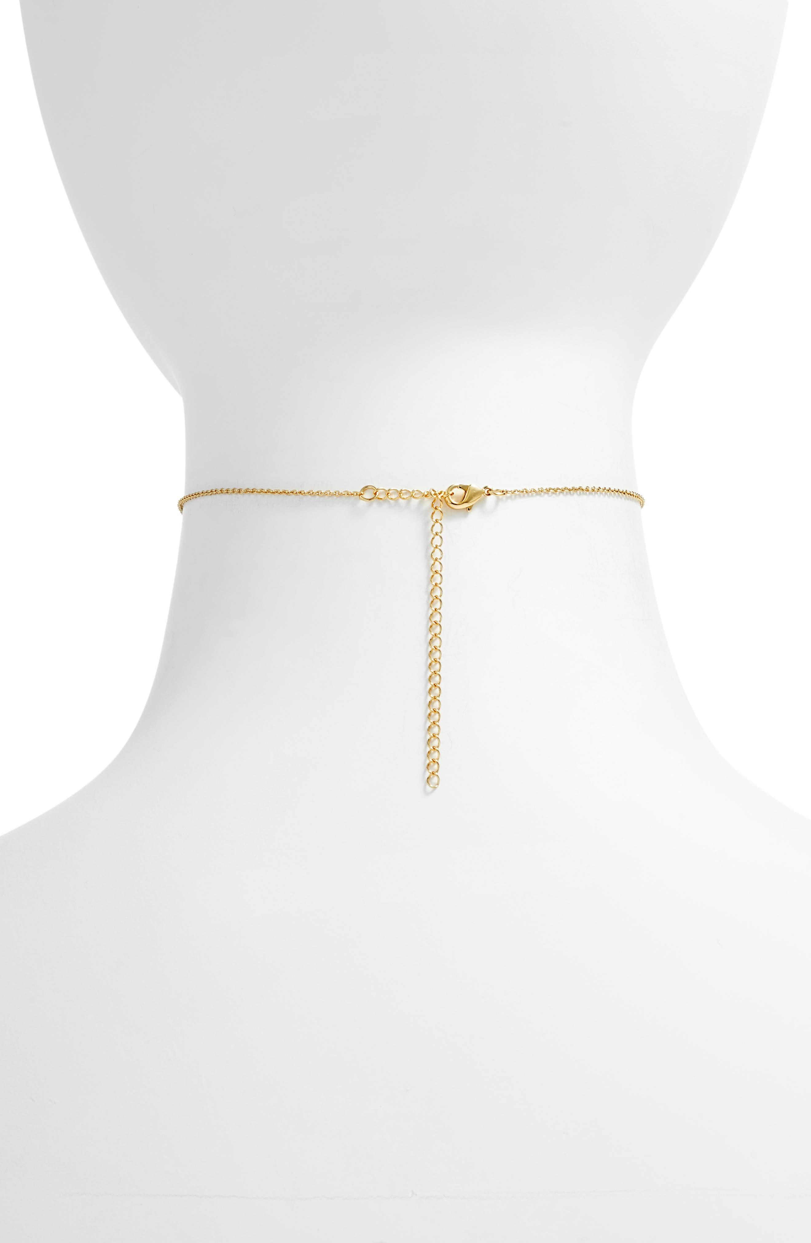 FIVE AND TWO,                             Josie Choker Necklace,                             Alternate thumbnail 2, color,                             710