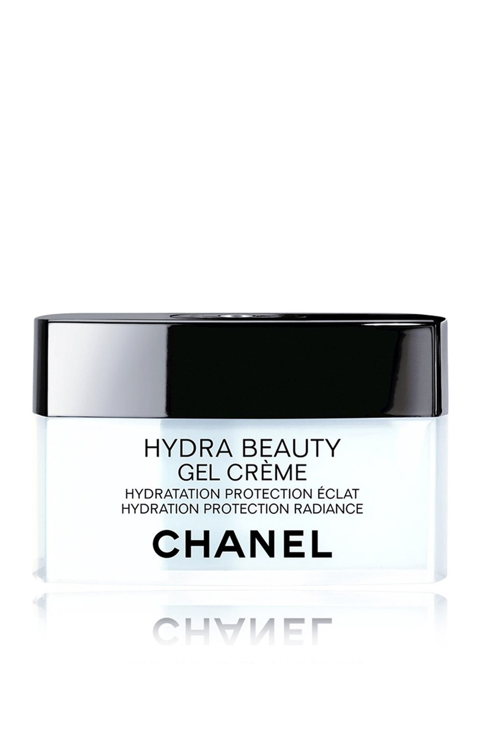 CHANEL HYDRA BEAUTY GEL CRÈME Hydration Protection Radiance  fd78608ebe