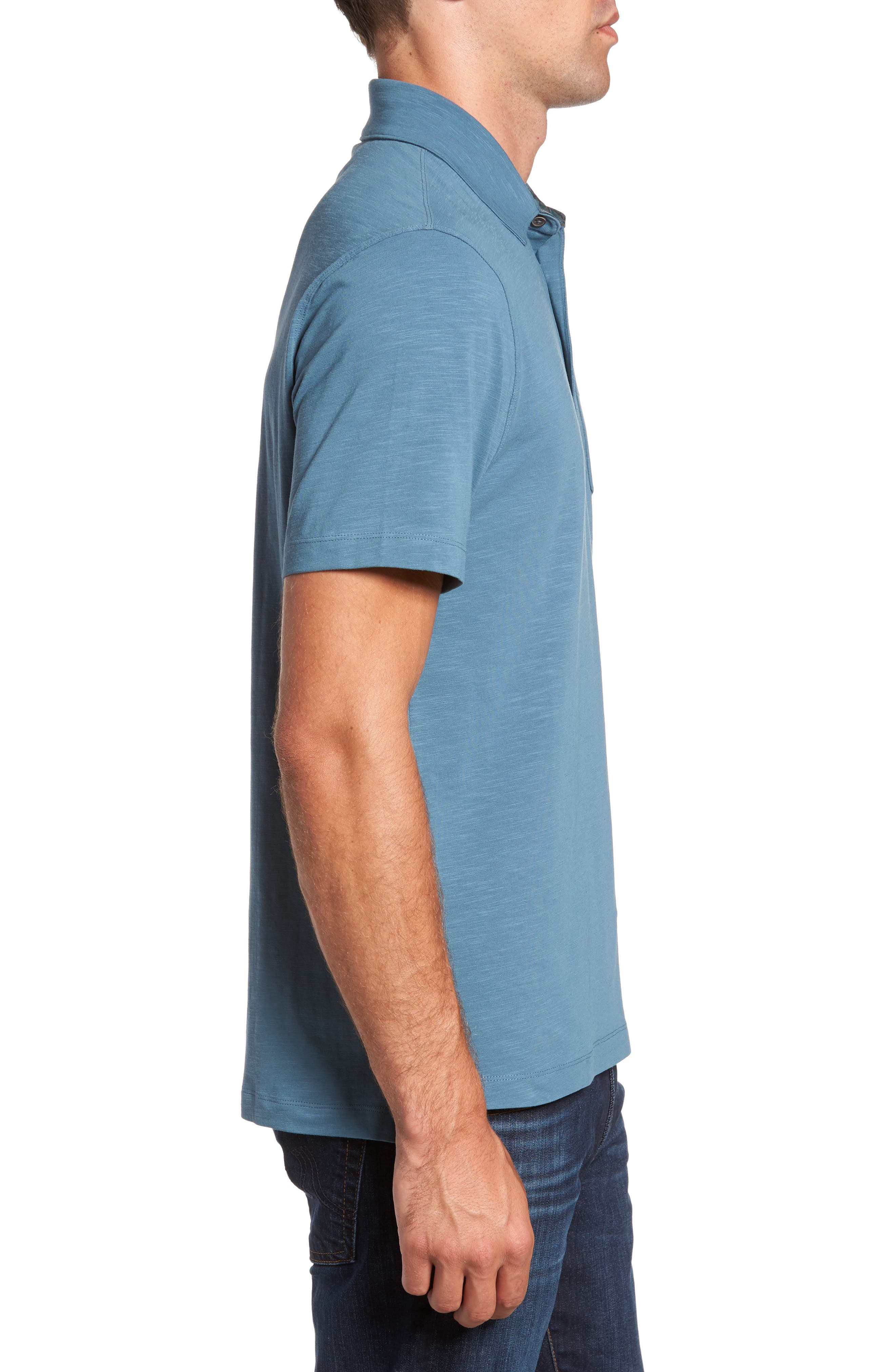 Stretch Slub Jersey Polo,                             Alternate thumbnail 8, color,