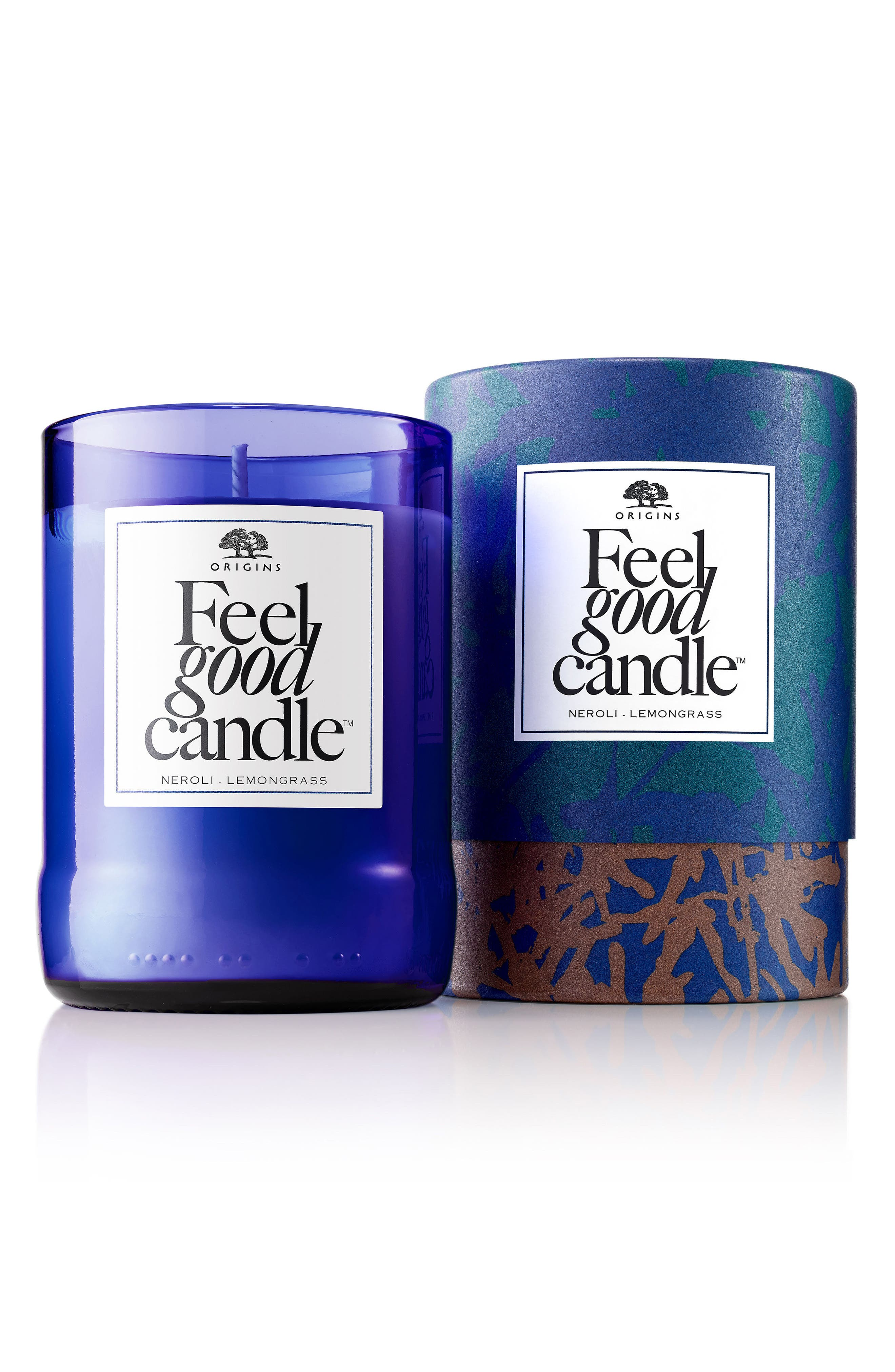 Neroli & Lemongrass Feel Good Candle,                             Main thumbnail 1, color,
