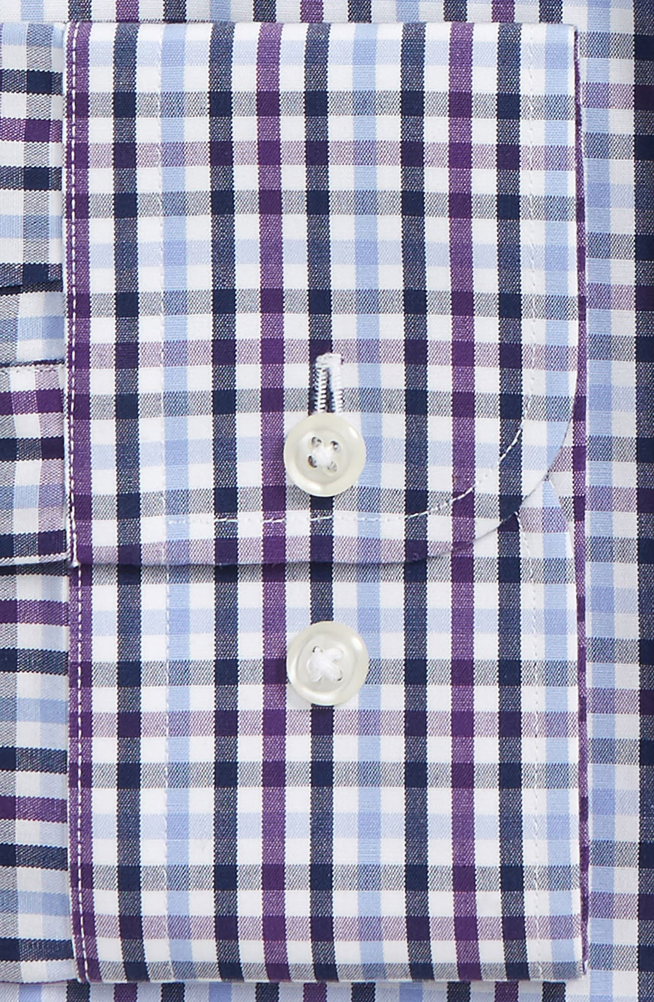 Smartcare<sup>™</sup> Trim Fit Check Dress Shirt,                             Alternate thumbnail 2, color,                             510