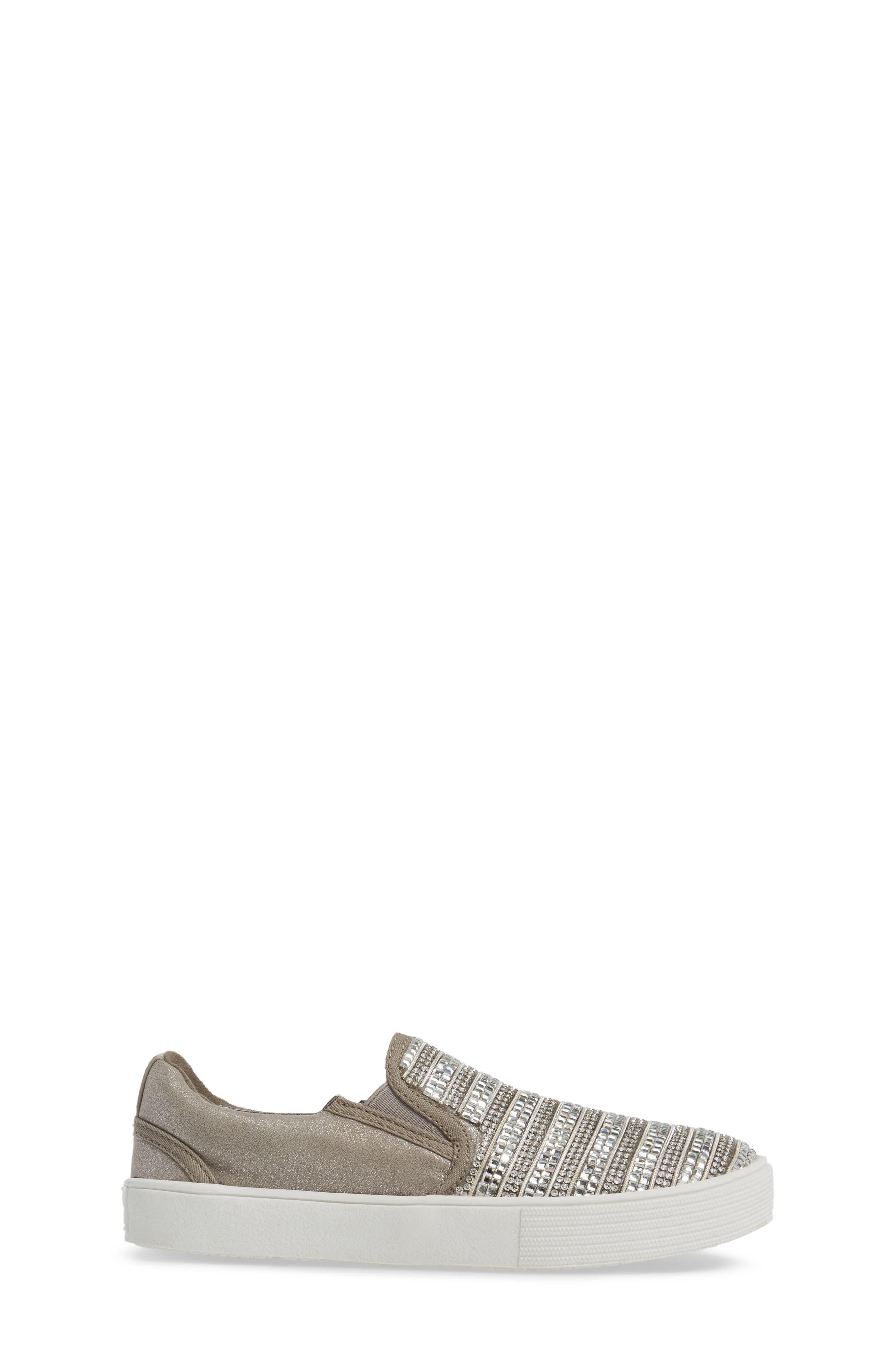 Vance Glitz Slip-On Sneaker,                             Alternate thumbnail 8, color,