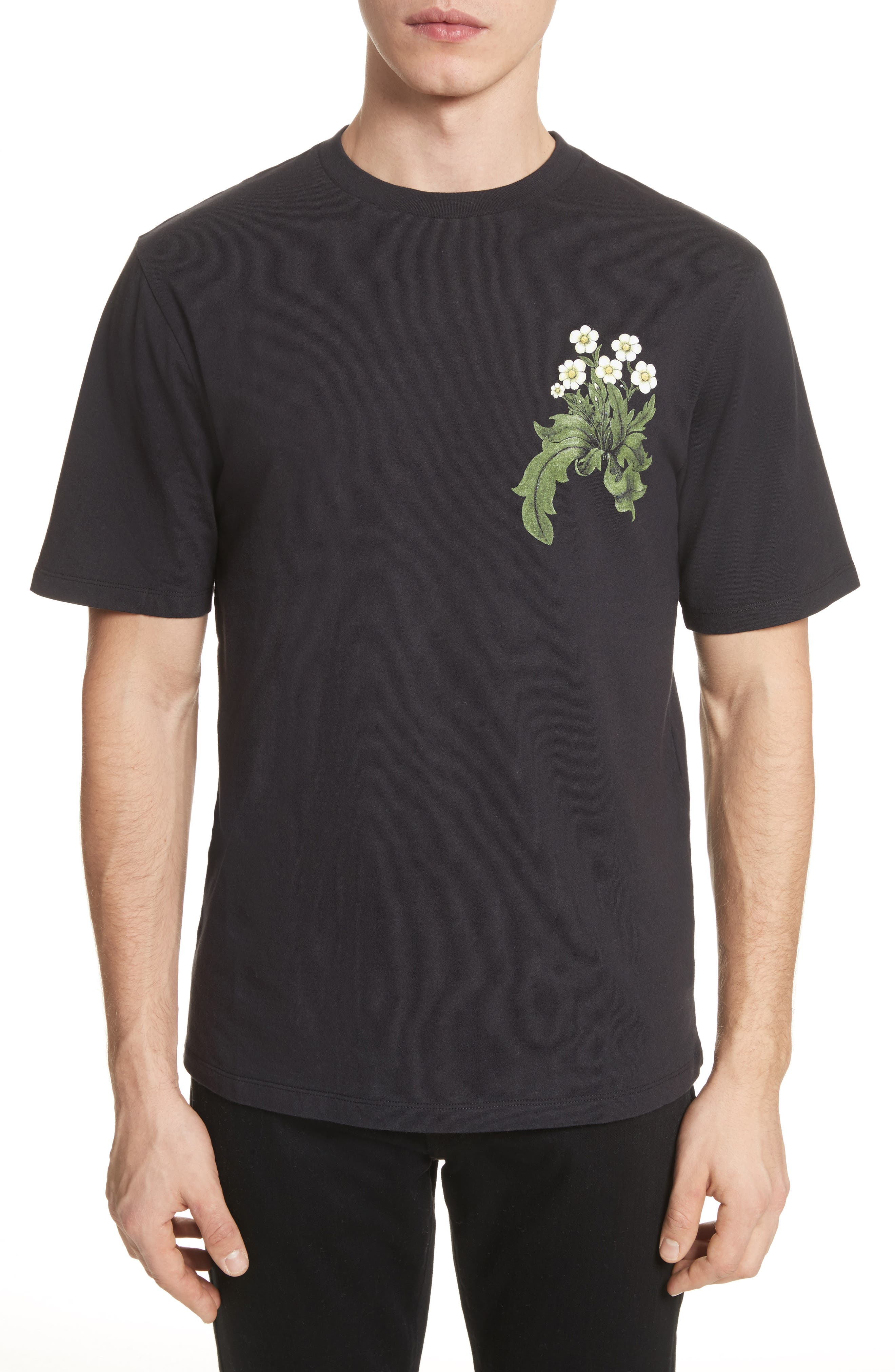 Loewe & Co. Graphic T-Shirt,                         Main,                         color, 001