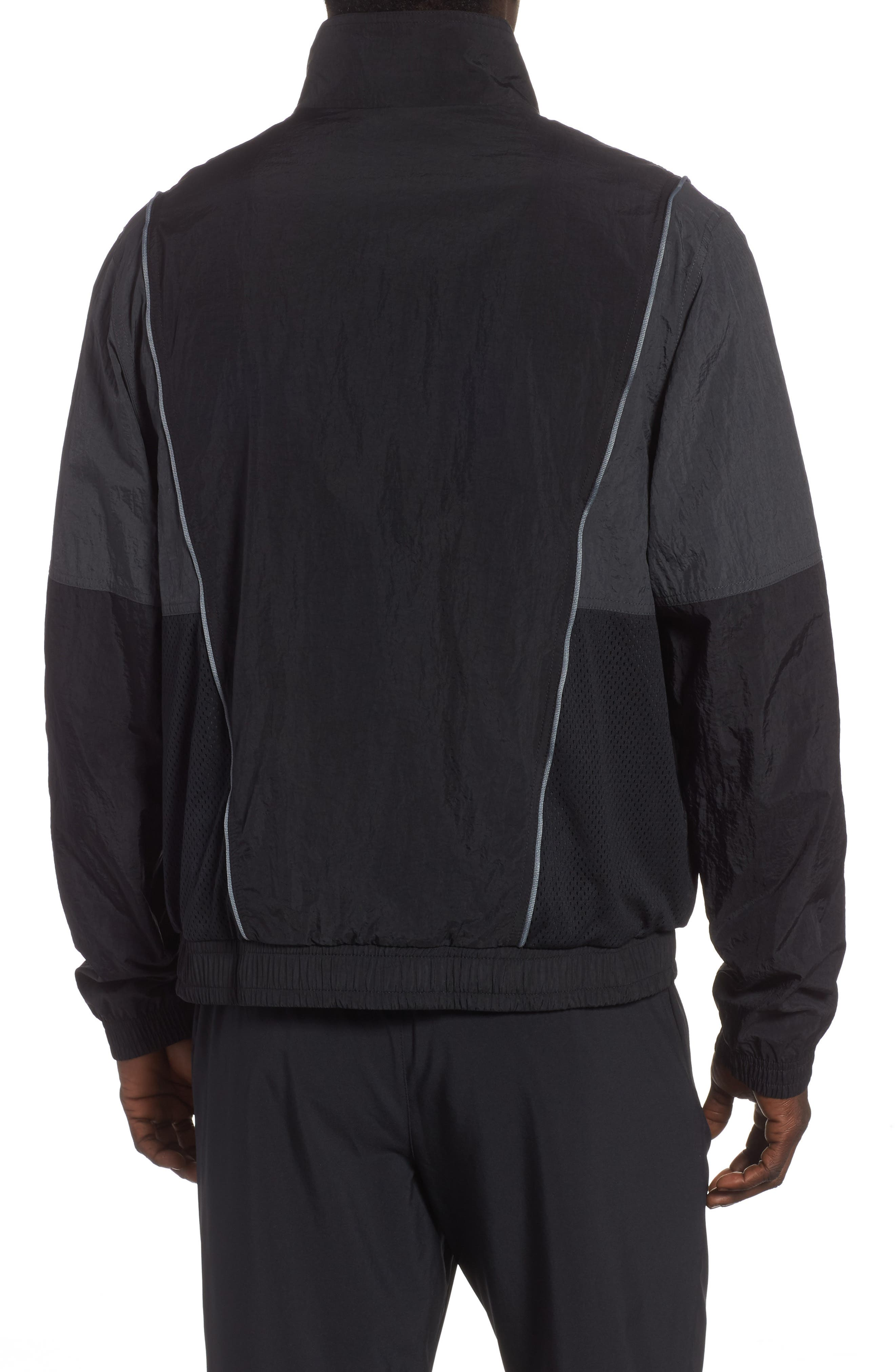 Chicago Bulls Track Jacket,                             Alternate thumbnail 2, color,                             BLACK/ ANTHRACITE/ COOL GREY