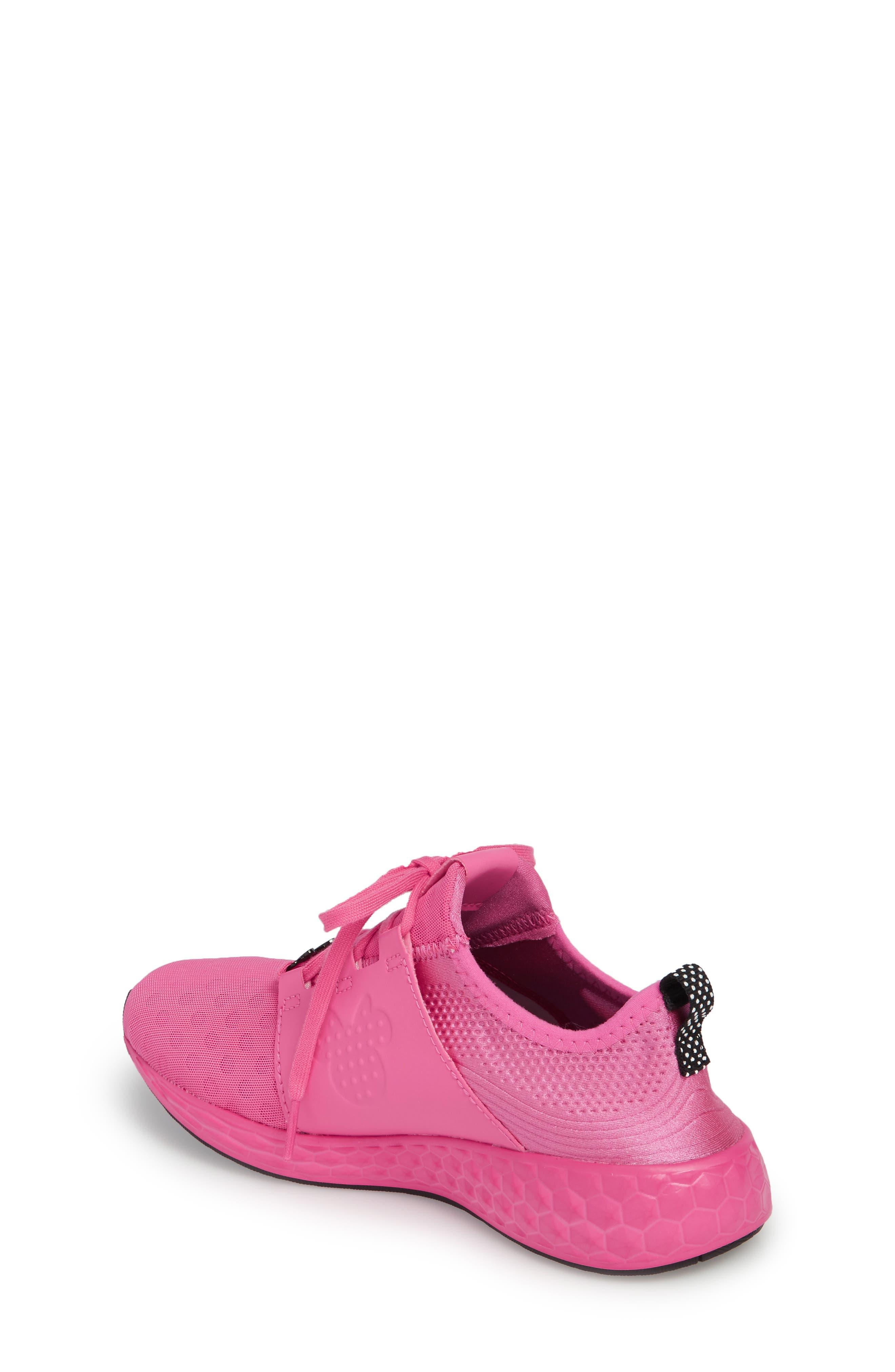 x Disney Minnie Mouse Cruz Sport Sneaker,                             Alternate thumbnail 4, color,