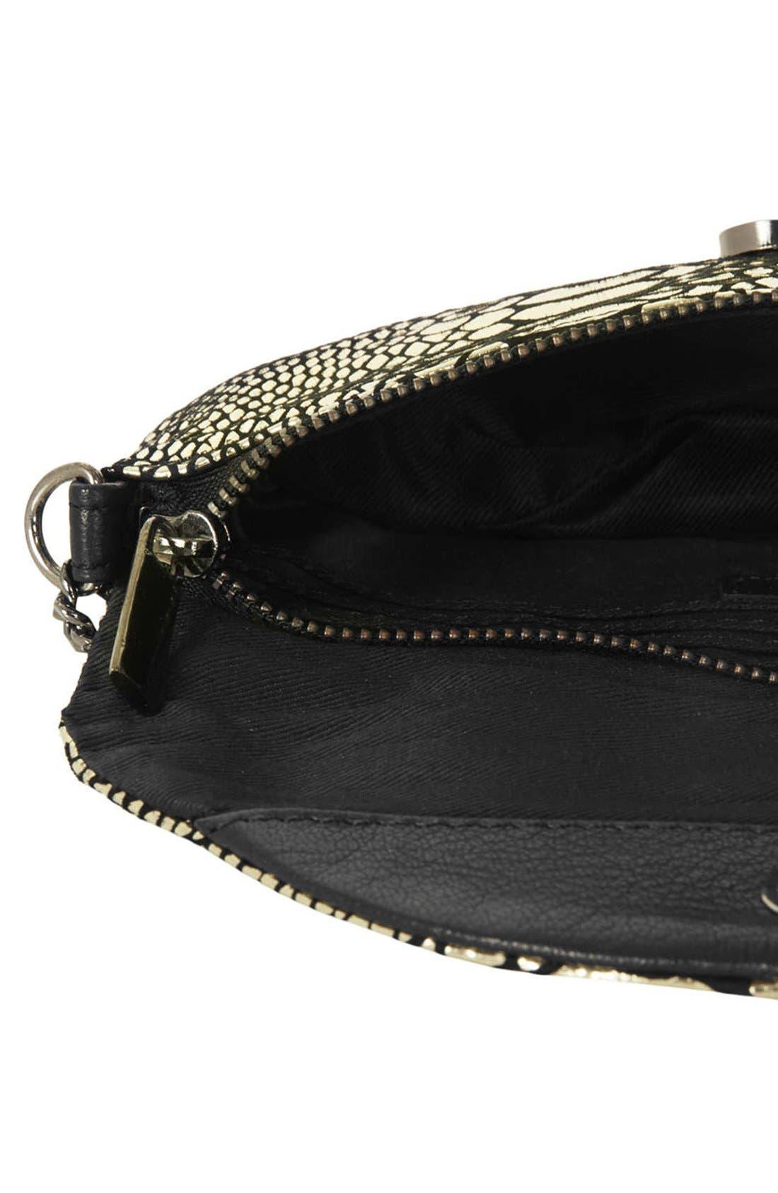 Leather Crossbody Bag,                             Alternate thumbnail 2, color,                             710
